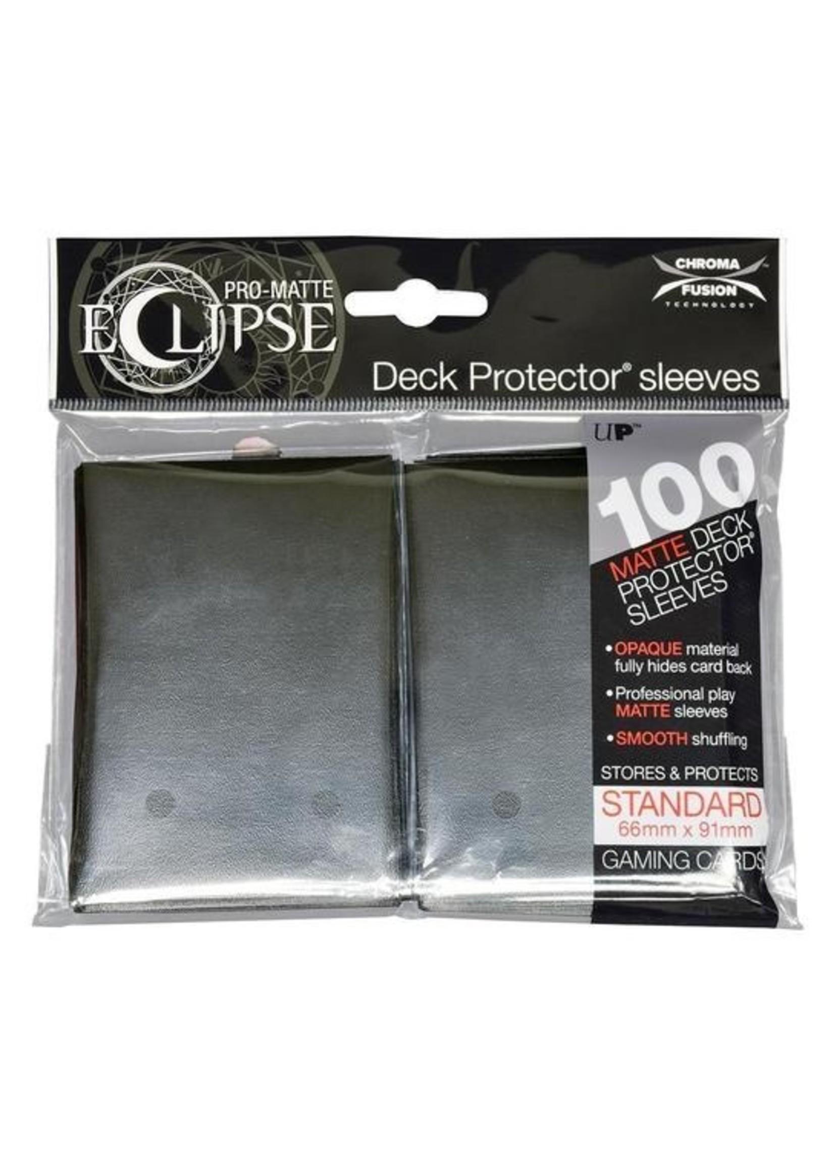 Pro-Matte Eclipse 2.0 Standard Deck Protector Sleeves: Jet Black (100)