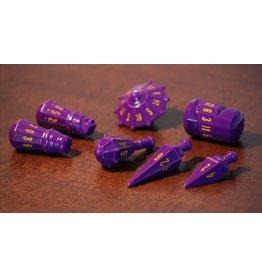 PolyHero Warrior Set - Vorpal Purple with Amber