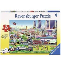 Puzzle: Busy Neighborhood