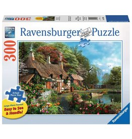 Puzzle: Cottage on a Lake 300pcs Large Format