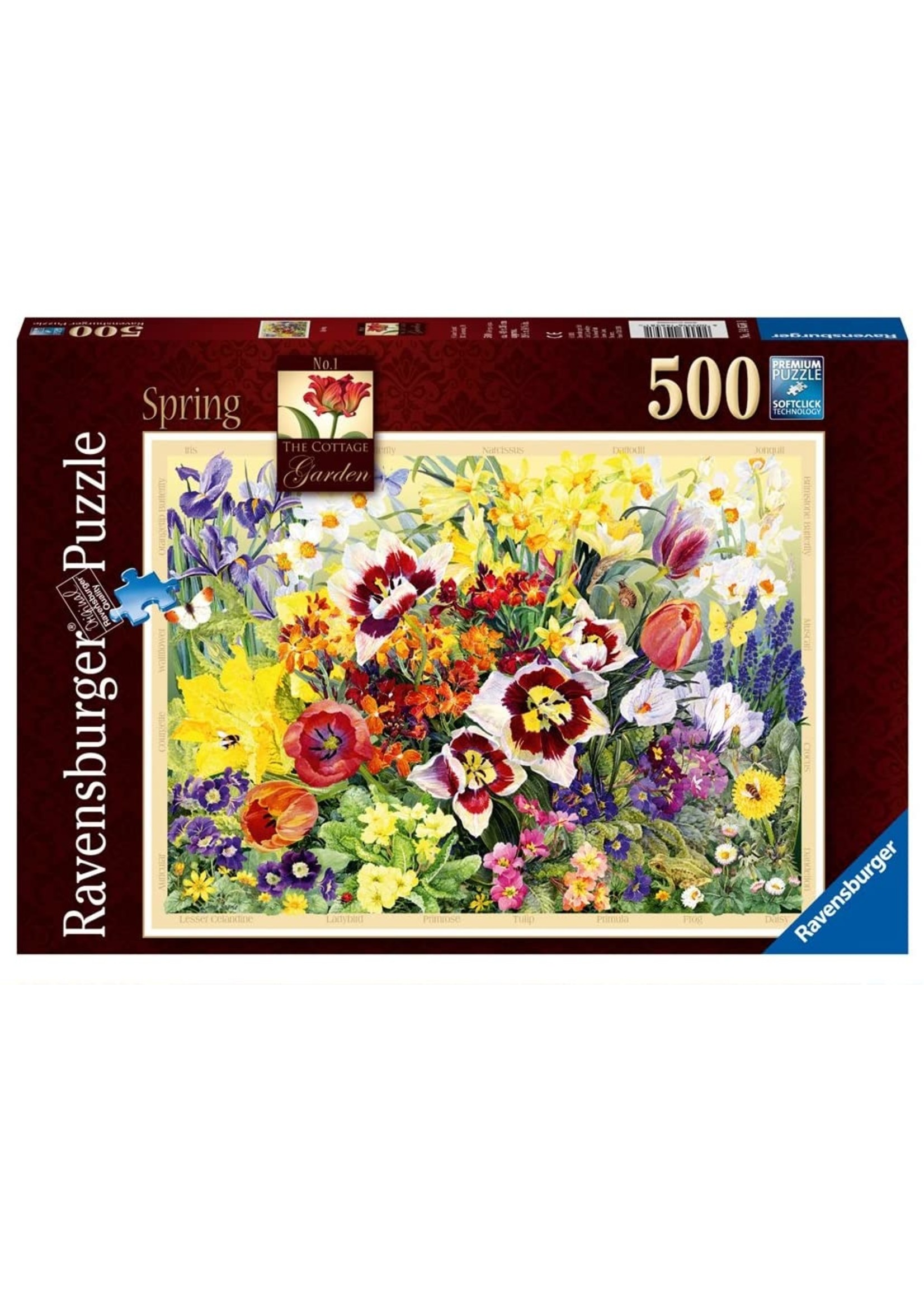 Puzzle: The Cottage Garden No 1, Spring