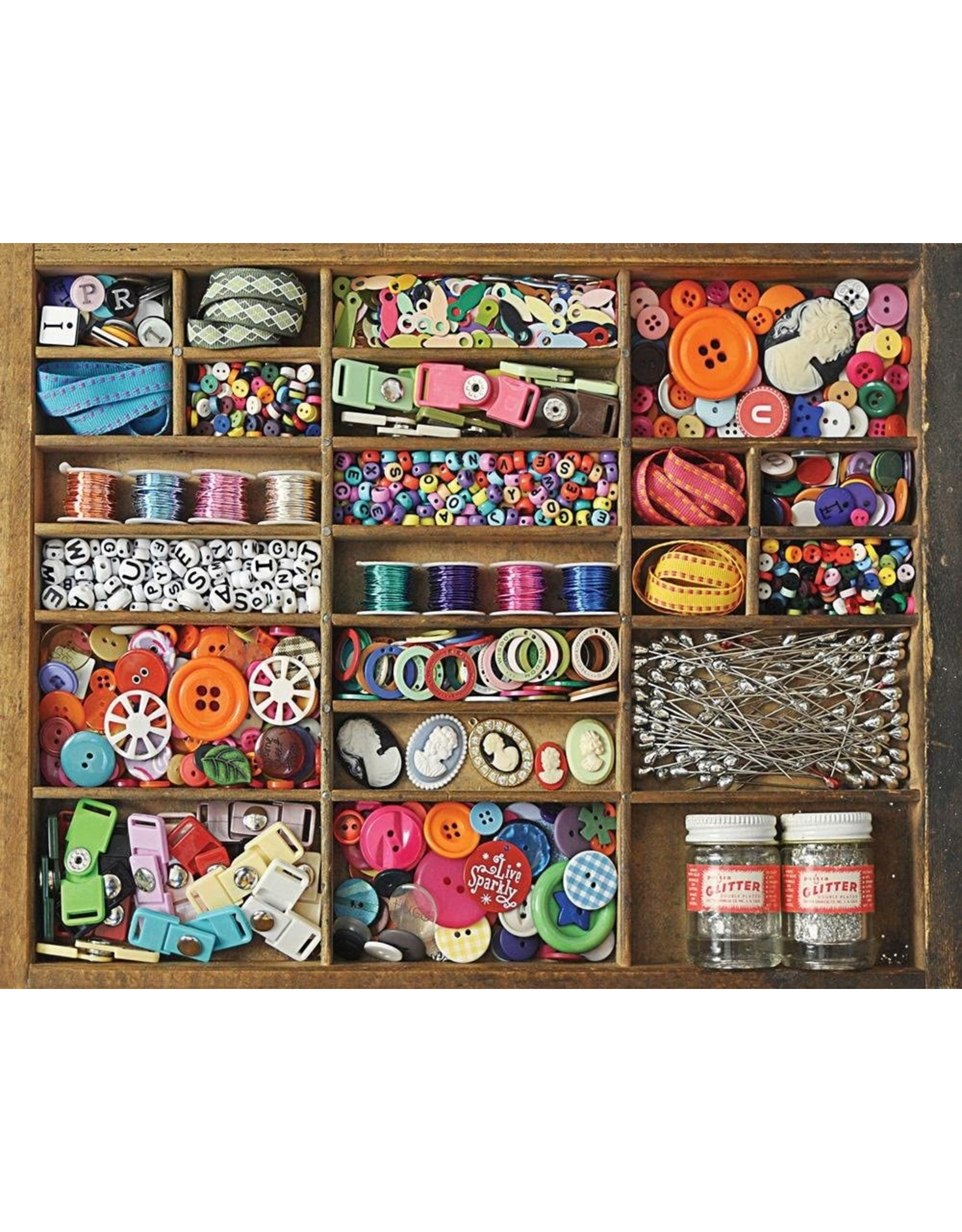 Puzzle: The Sewing Box 500pcs