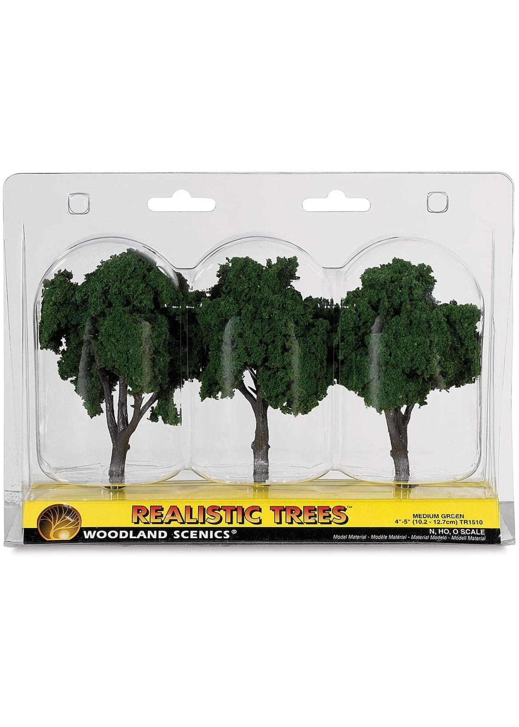 Ready-Made Tree, Medium Green 4-5'' (3)