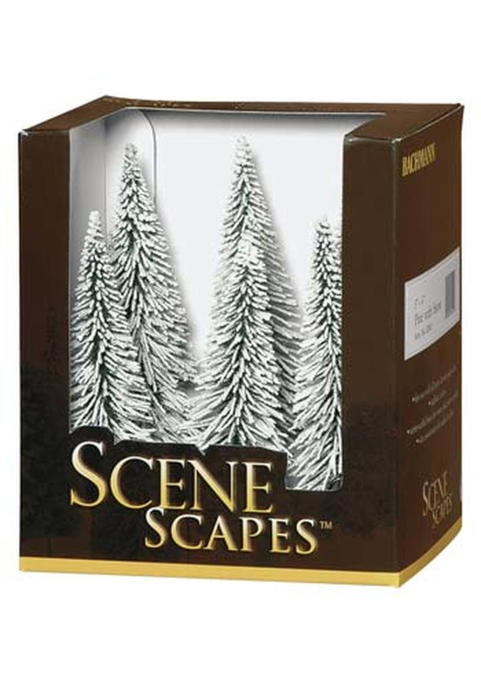 Scenescapes Pine Trees w/Snow, 5-6'' (6)