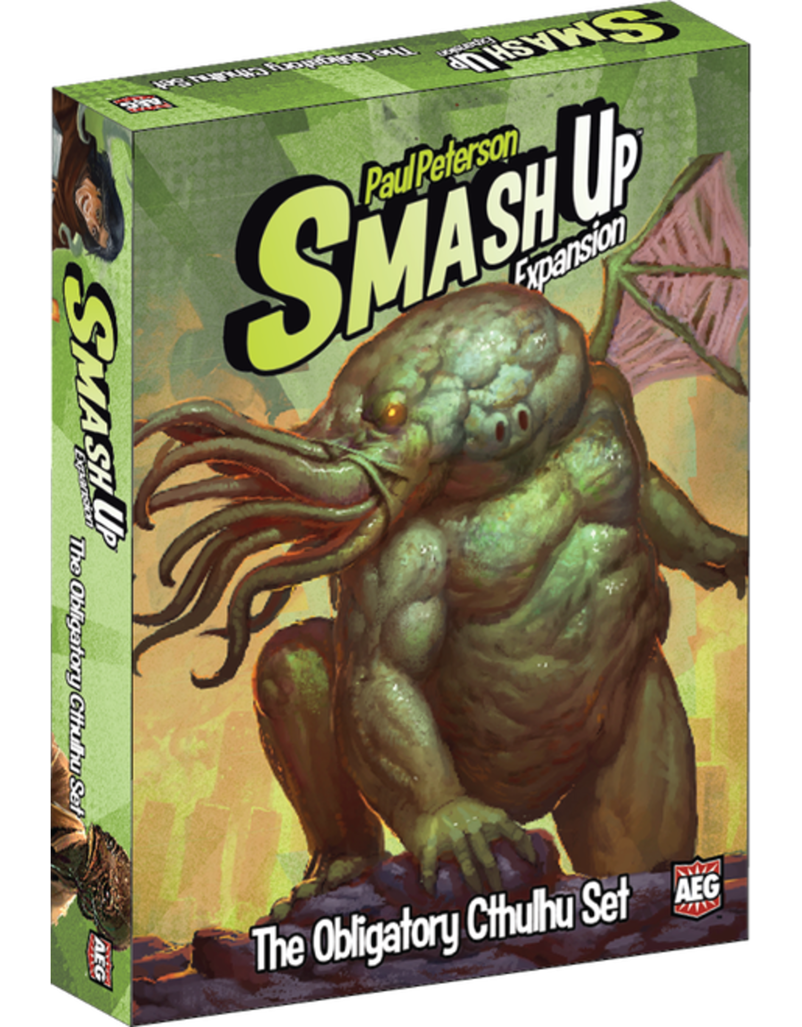 Smash Up: The Obligatory Cthulhu Expansion