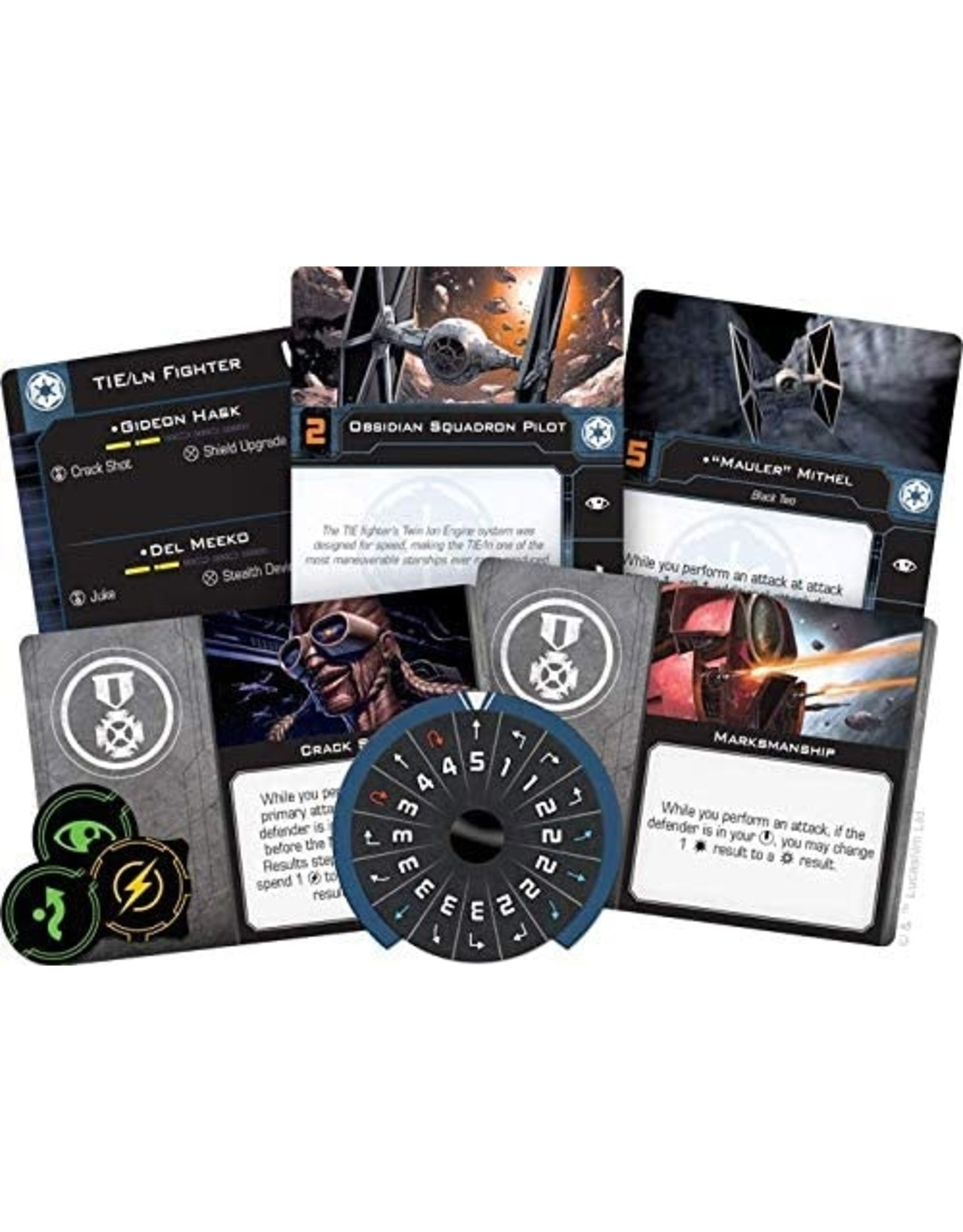Star Wars X-Wing: 2nd Edition - TIE/LN Fighter Expansion Pack