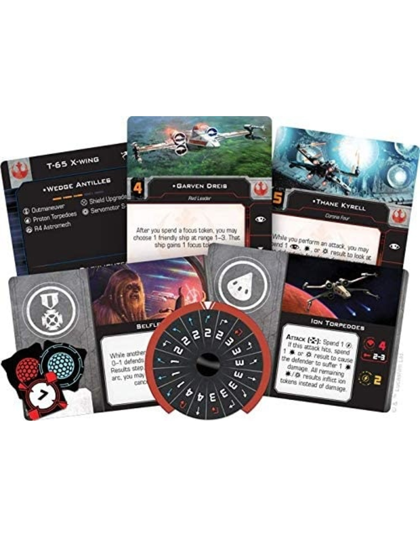 Star Wars X-Wing: 2nd Edition - T-65 X-Wing Expansion Pack