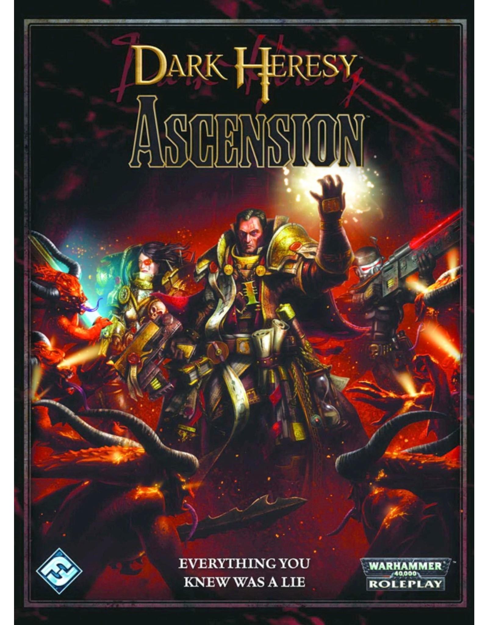 Warhammer 40K Dark Heresy RPG: Ascension