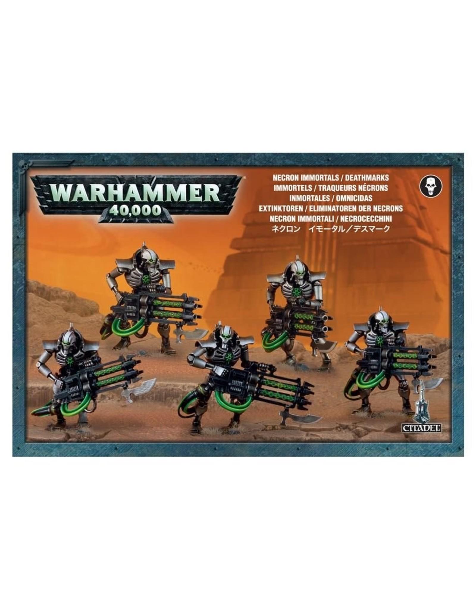 Warhammer 40K: Necron Immortals/Deathmarks