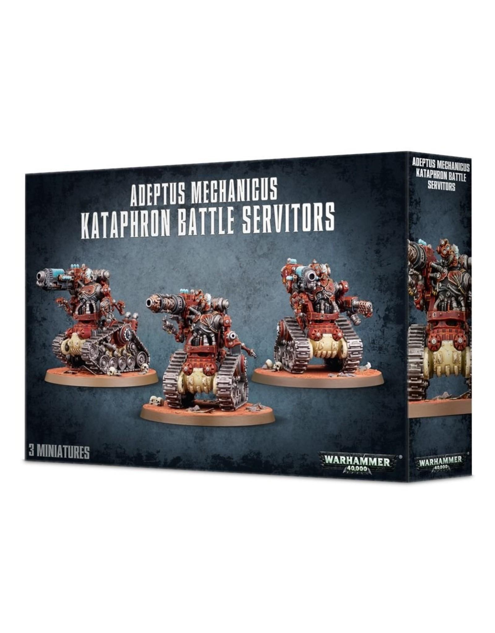 Warhammer 40K: Adeptus Mechanicus Kataphron Battle Servitors - Destroyers