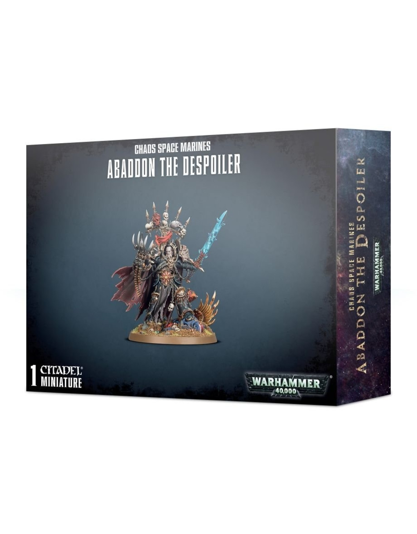 Warhammer 40K: Chaos Space Marine Abaddon the Despoiler