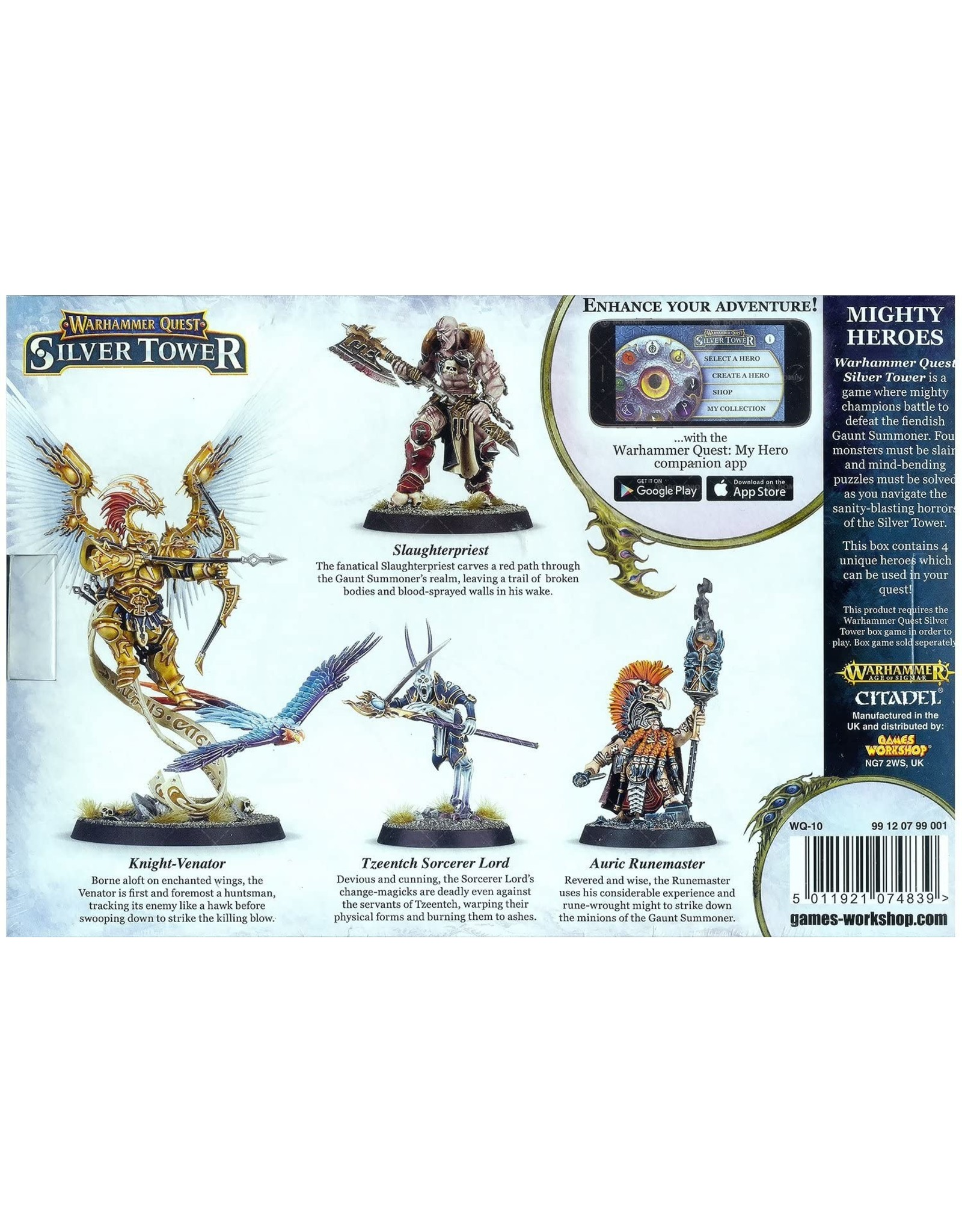 Warhammer Age of Sigmar: Warhammer Quest - Silver Tower Mighty Heroes