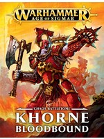 Warhammer Age of Sigmar: Chaos Battletome - Khorne Bloodbound (Hardcover)