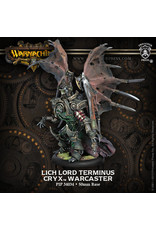 Warmachine: Cryx Lich Lord Terminus Warcaster (White Metal)