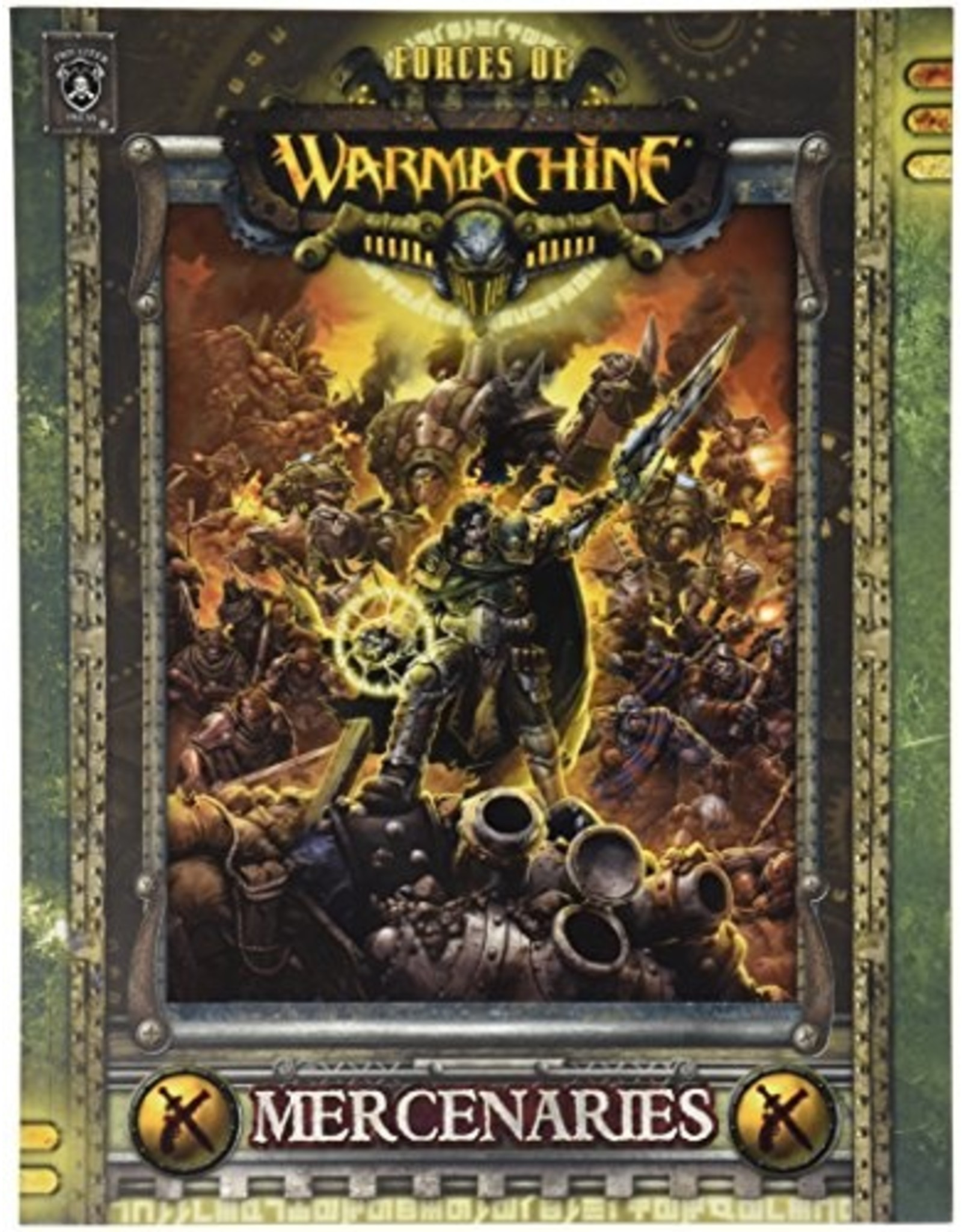 Warmachine: Forces of Warmachine - Mercenaries (Softcover)