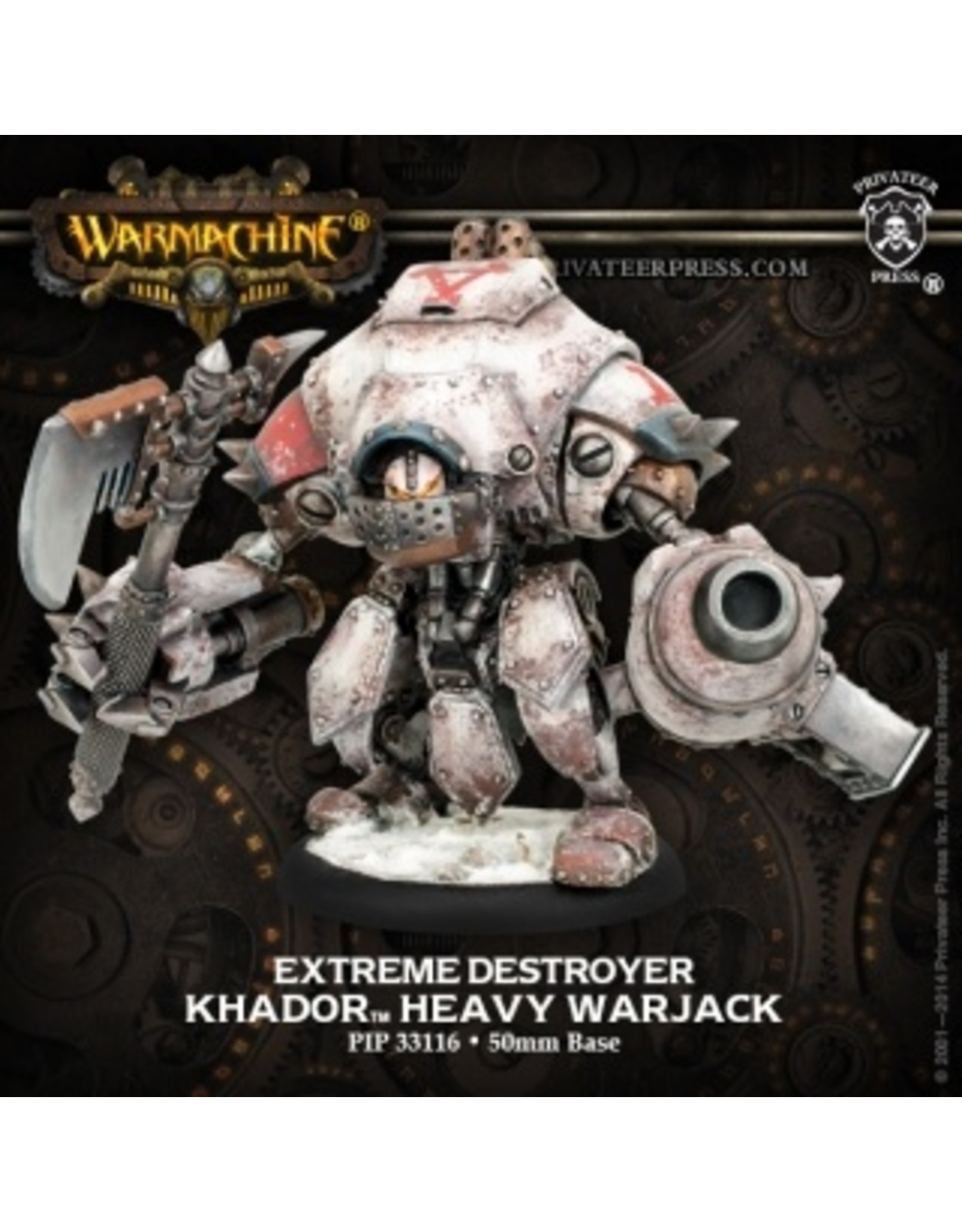 Warmachine: Khador Extreme Destroyer Warjack (Resin and White Metal)