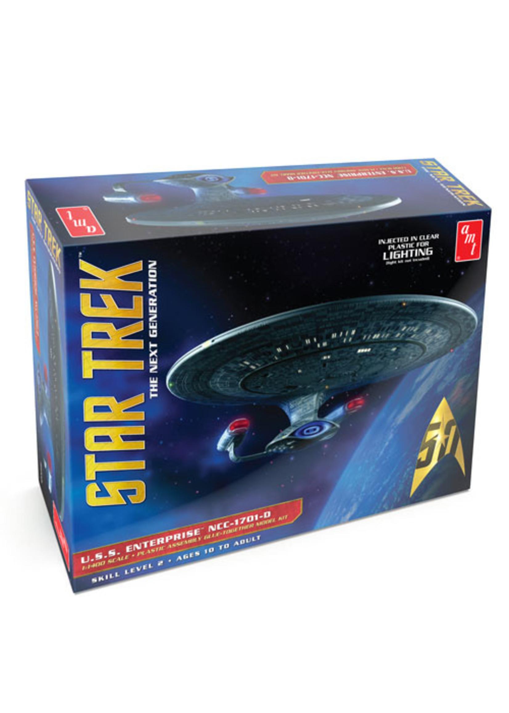 Model Kit: Star Trek USS Enterprise 1701-D, Clear Ed 1/1400