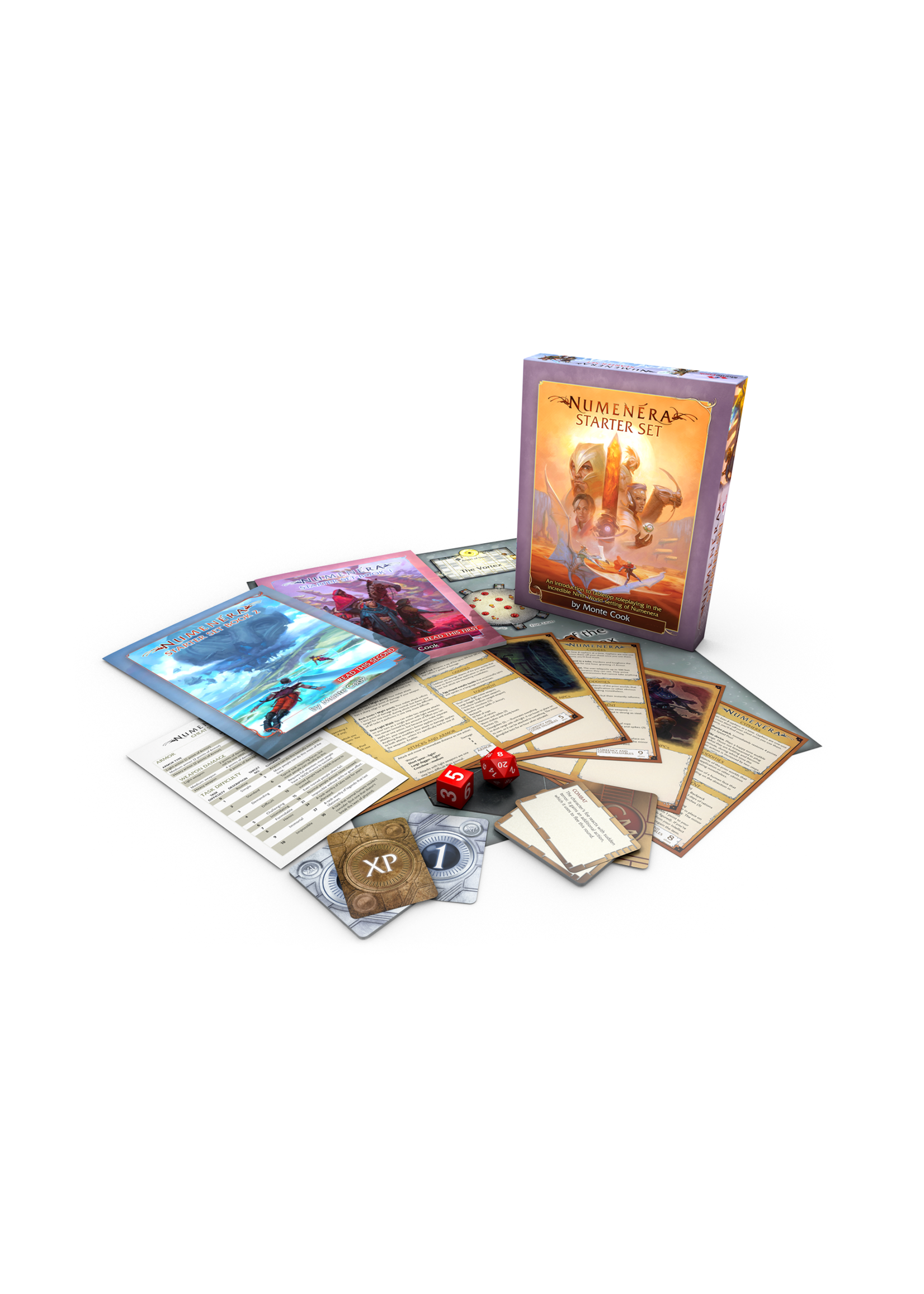 Numenera RPG: Starter Set