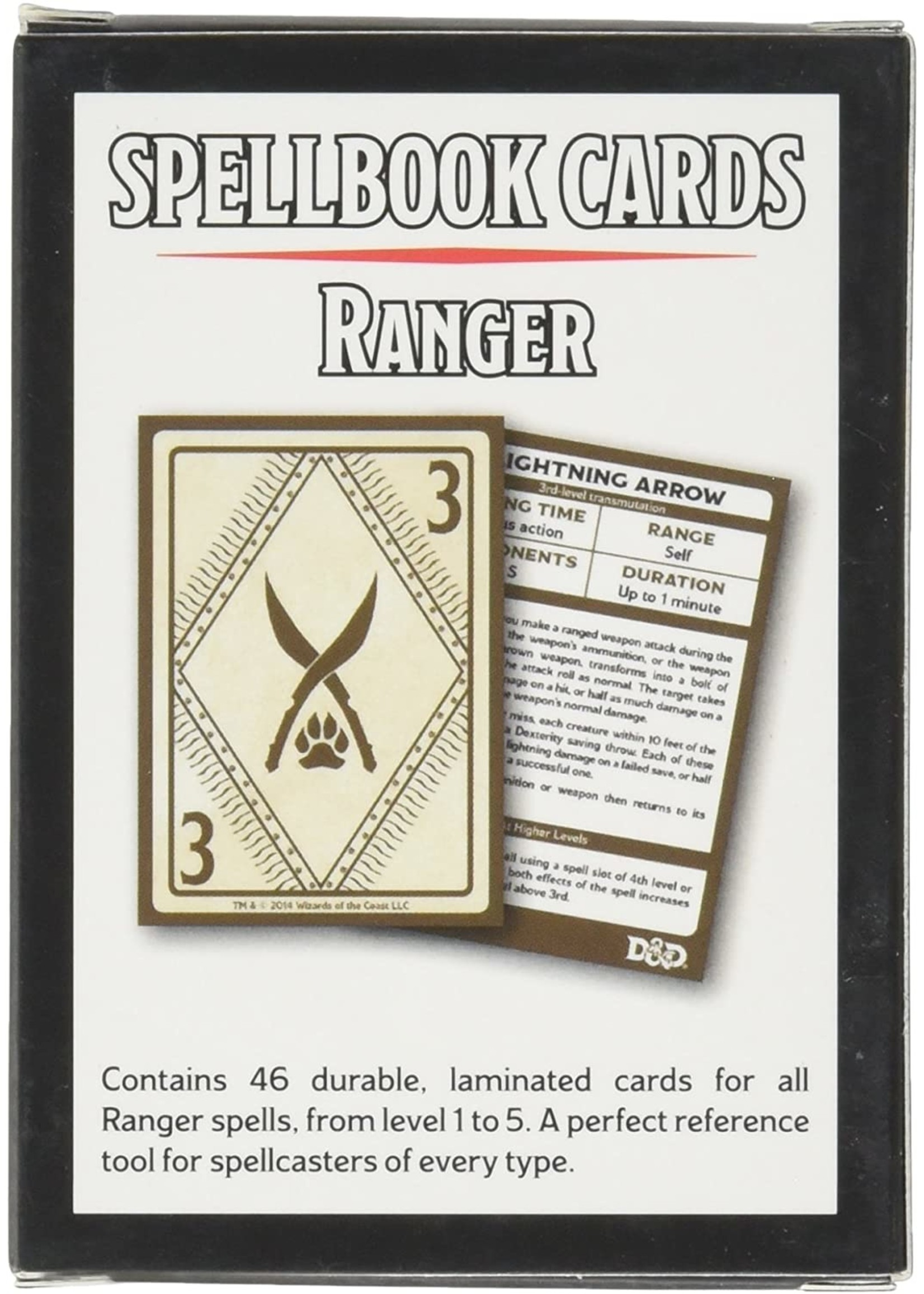 Dungeons and Dragons RPG: Spellbook Cards - Ranger Deck (46 cards)
