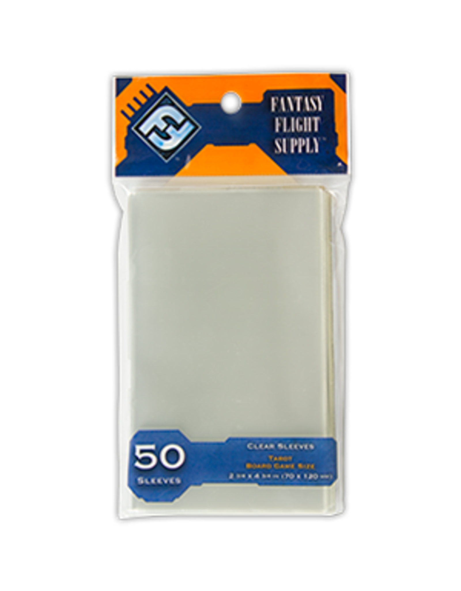 Tarot Board Game Sleeves (50) (Orange)