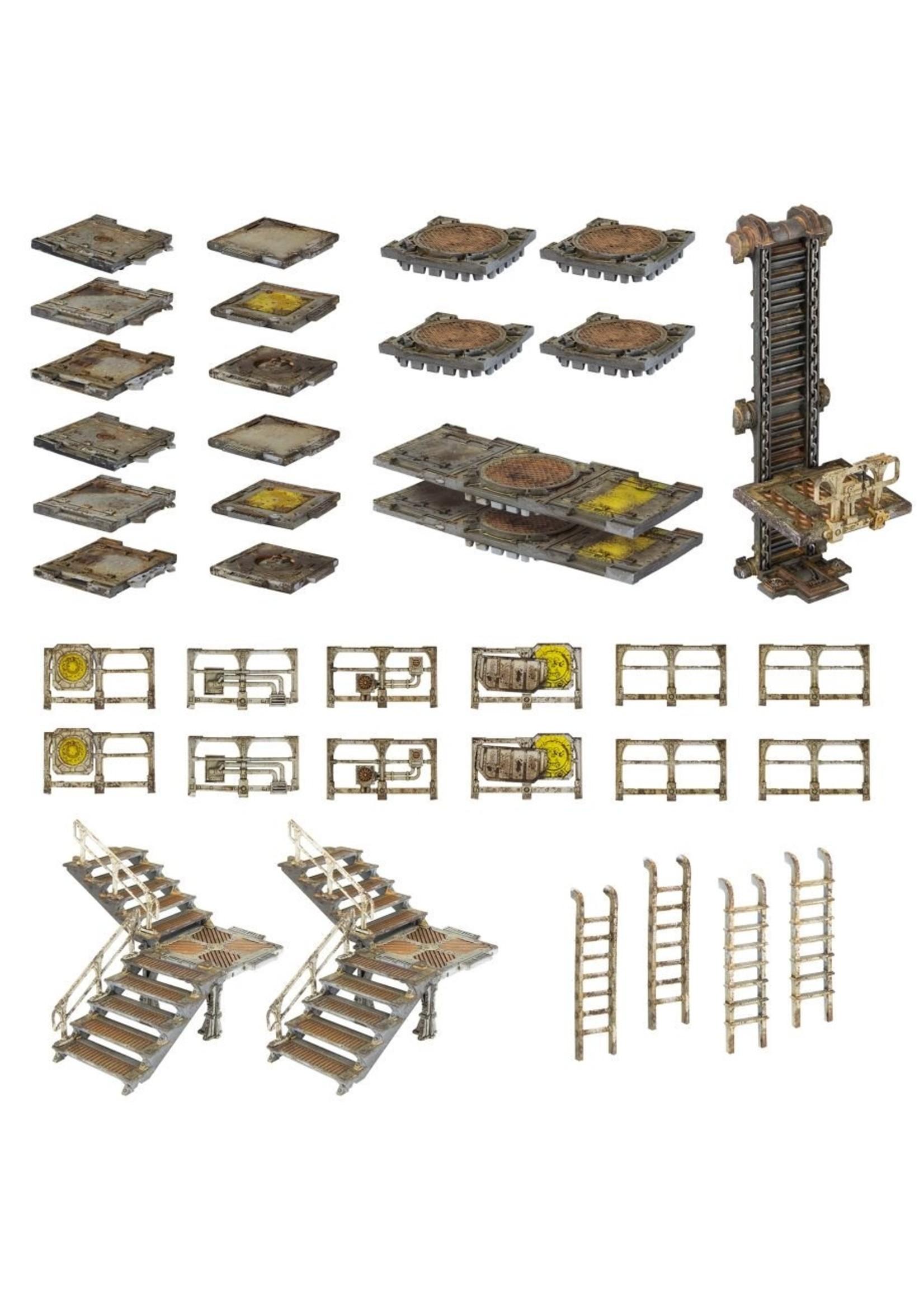 Necromunda: Zone Mortalis Platforms and Stairs