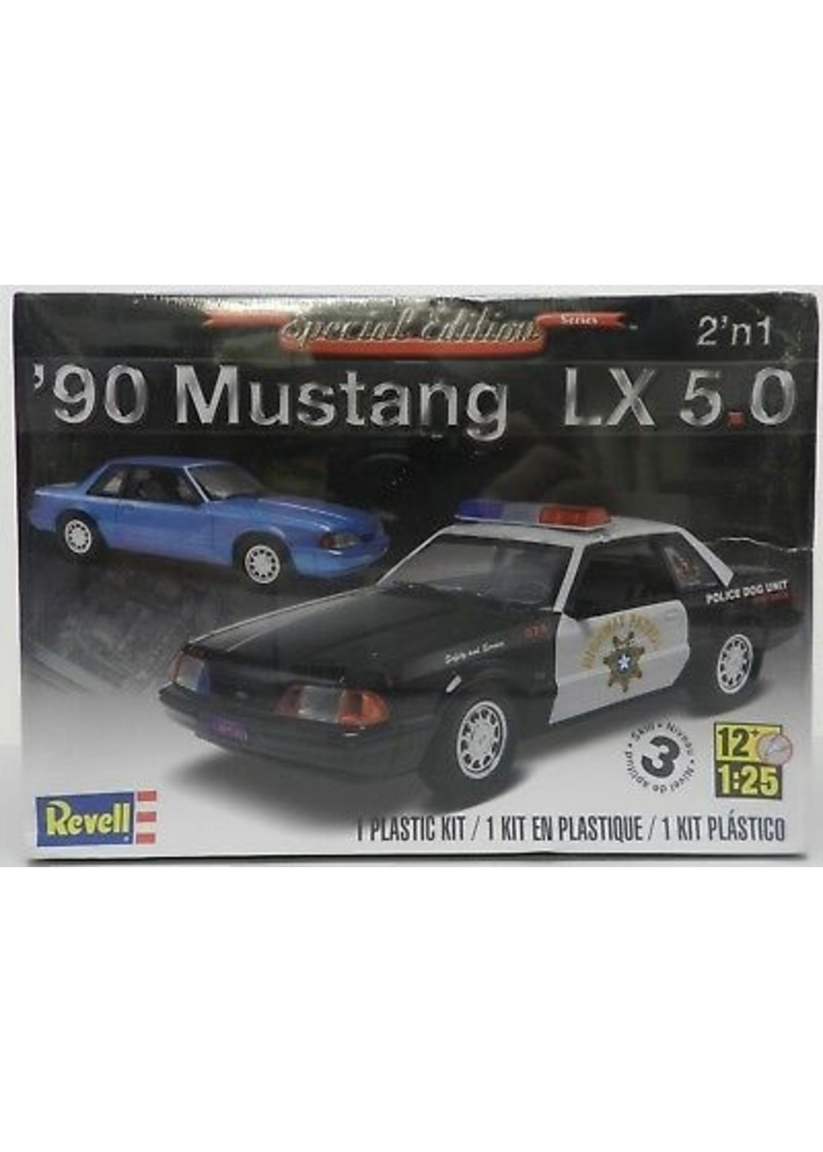 Model Kit: '92 Mustang LX 5.0 2n1 1/25