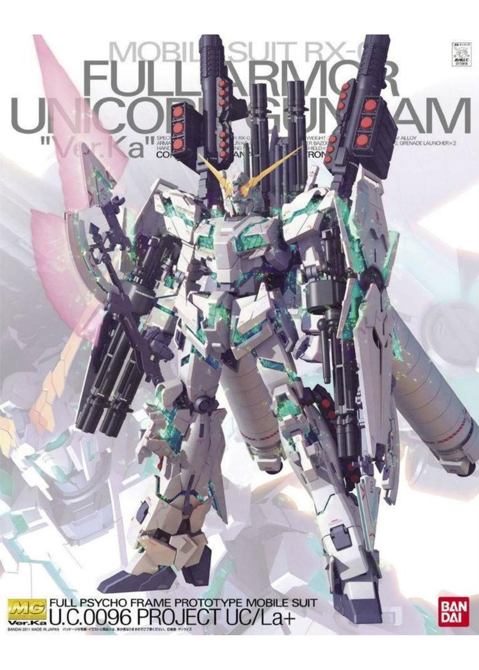 Gundam: 1/100 RX-0 Full Armor Unicorn Gundam MG