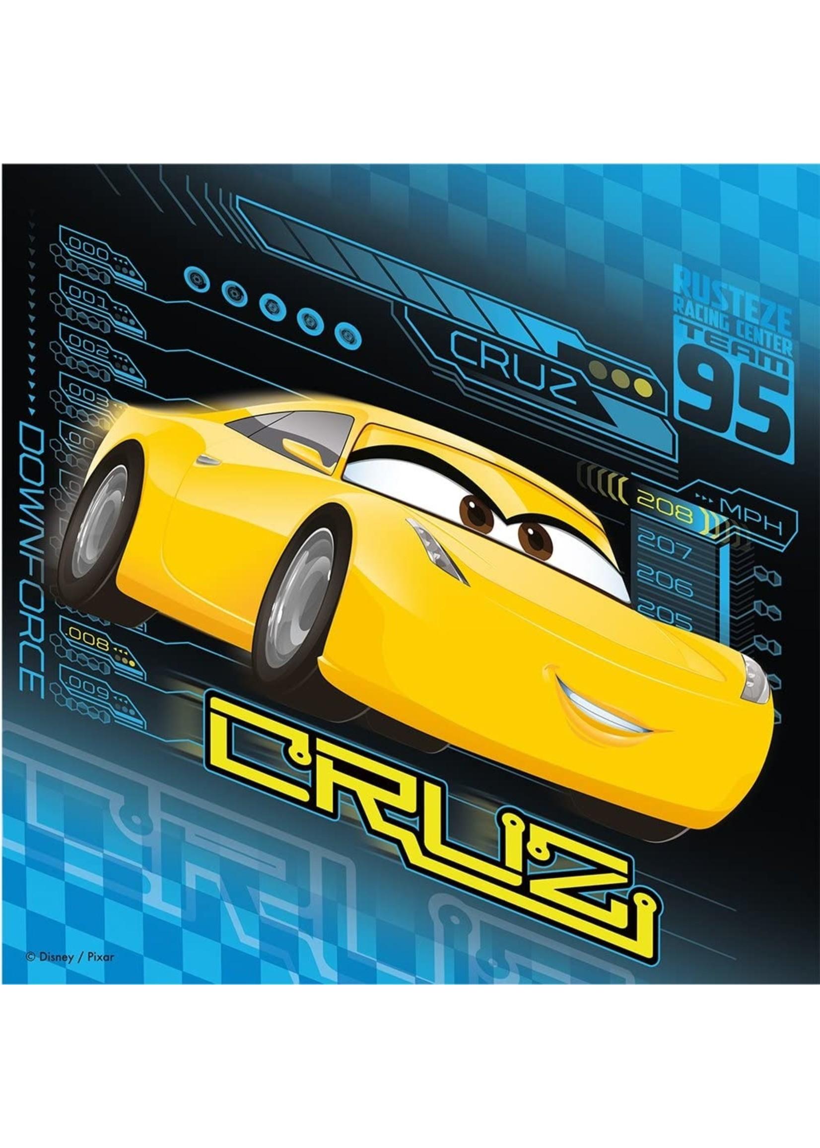Puzzle: Cars 3 (3 x 49 pc)