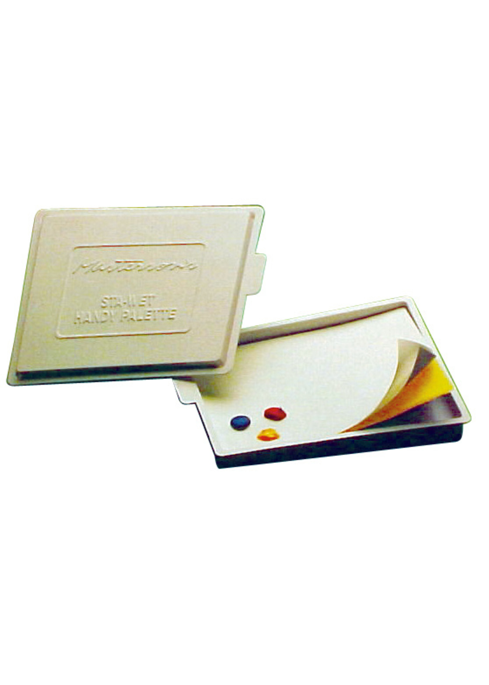 STA-WET HANDY PALETTE WITH LID 8-1/2X7