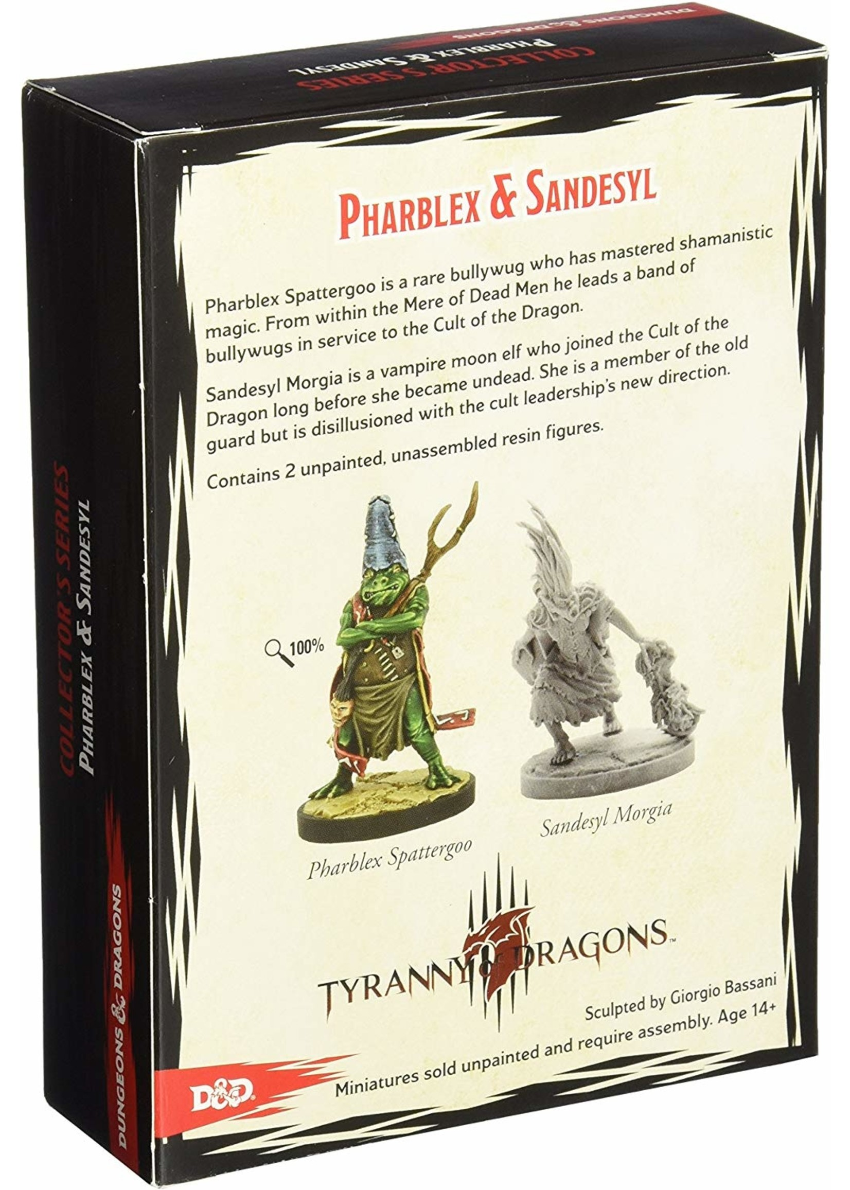 Dungeons and Dragons: Tyranny of the Dragons  - Sandesyl and Pharblexx