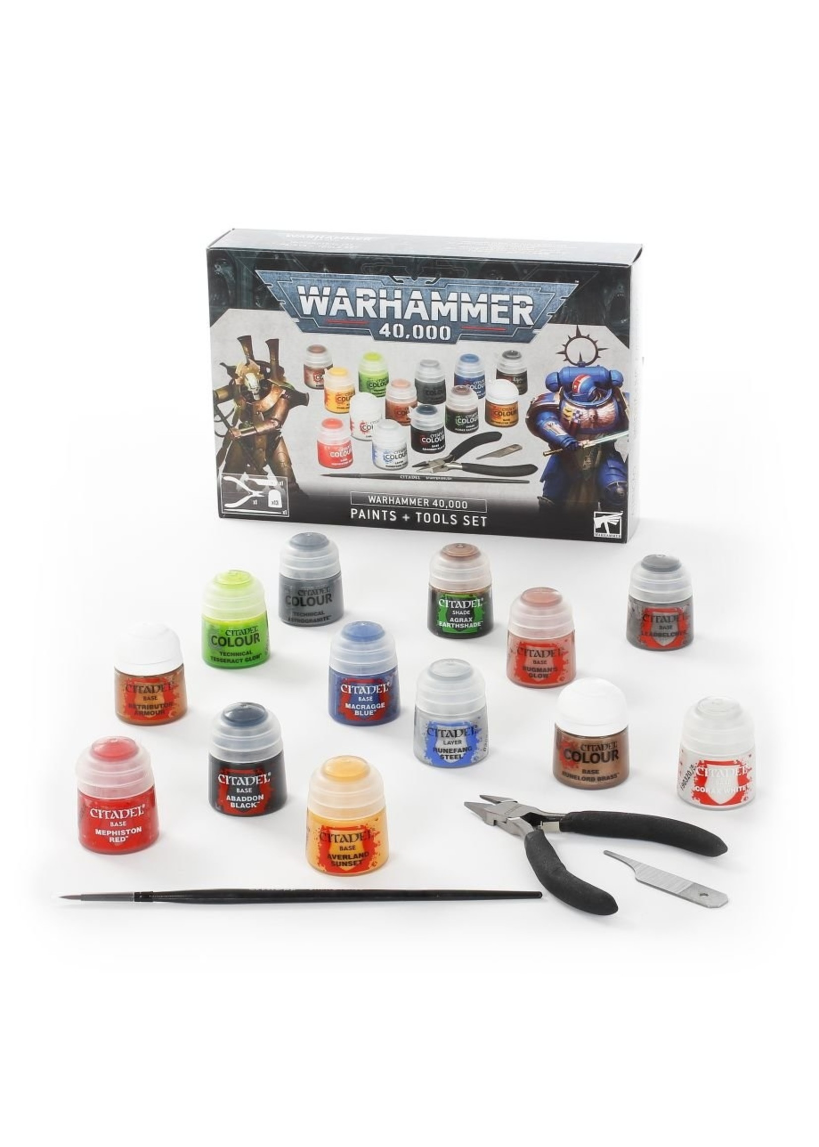 Warhammer 40k: Paints + Tools
