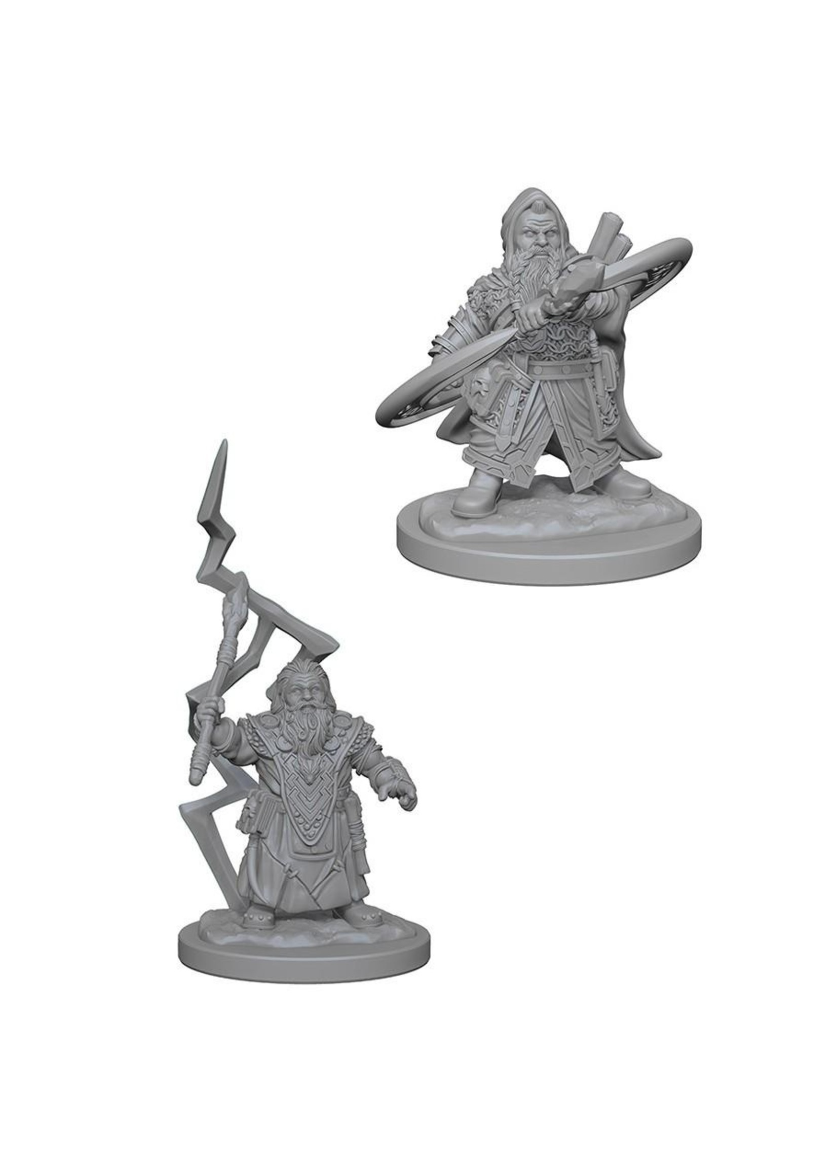 Pathfinder Deep Cuts Unpainted Miniatures: W4 Dwarf Male Sorcerer