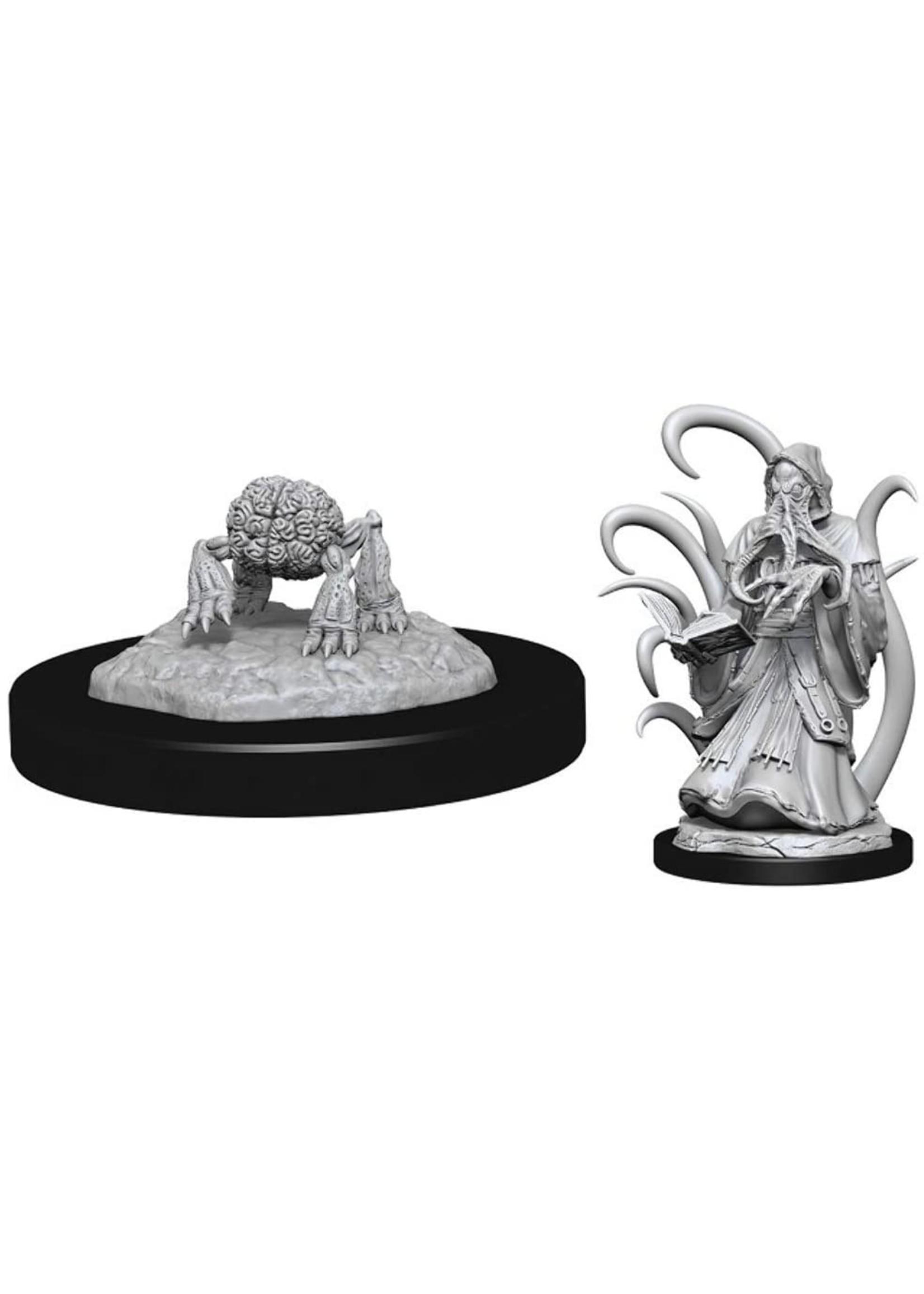 Dungeons & Dragons Nolzur`s Marvelous Unpainted Miniatures: W13 Alhoon & Intellect Devourers