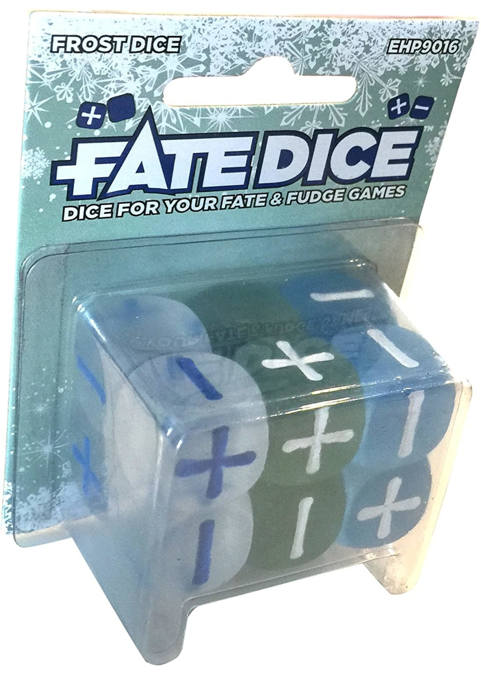 Fate Core RPG: Fate Dice - Frost (12)