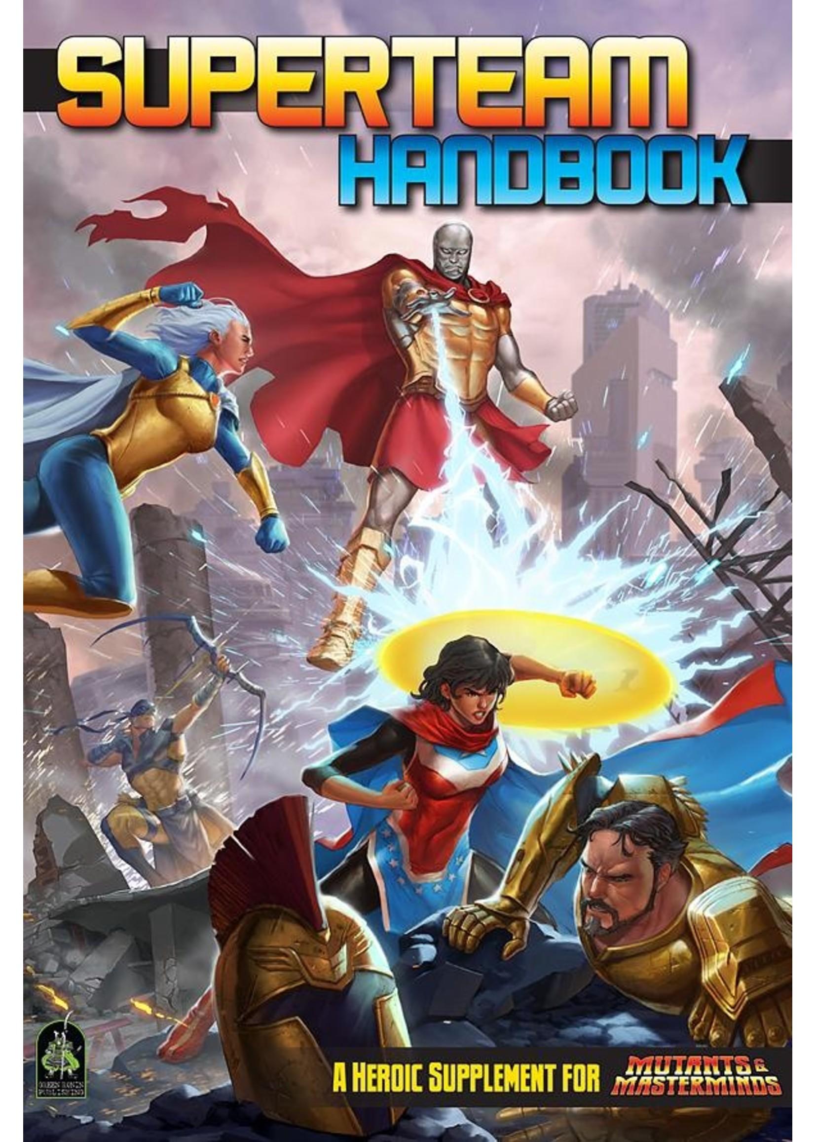 Mutants and Masterminds: Superteam Handbook