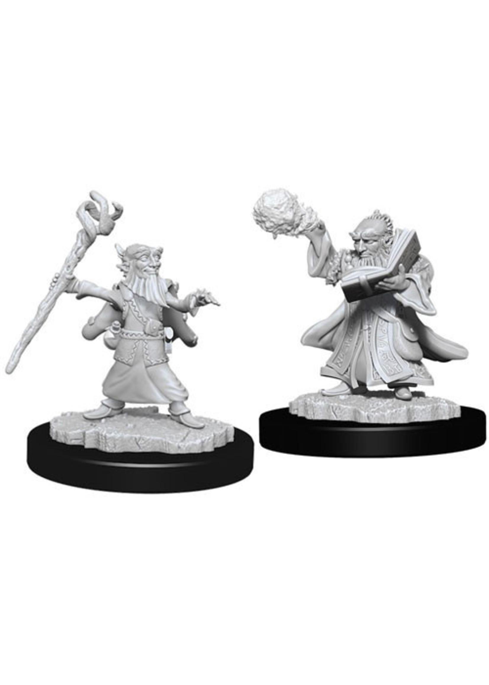 Dungeons & Dragons Nolzur`s Marvelous Unpainted Miniatures: W6 Male Gnome Wizard