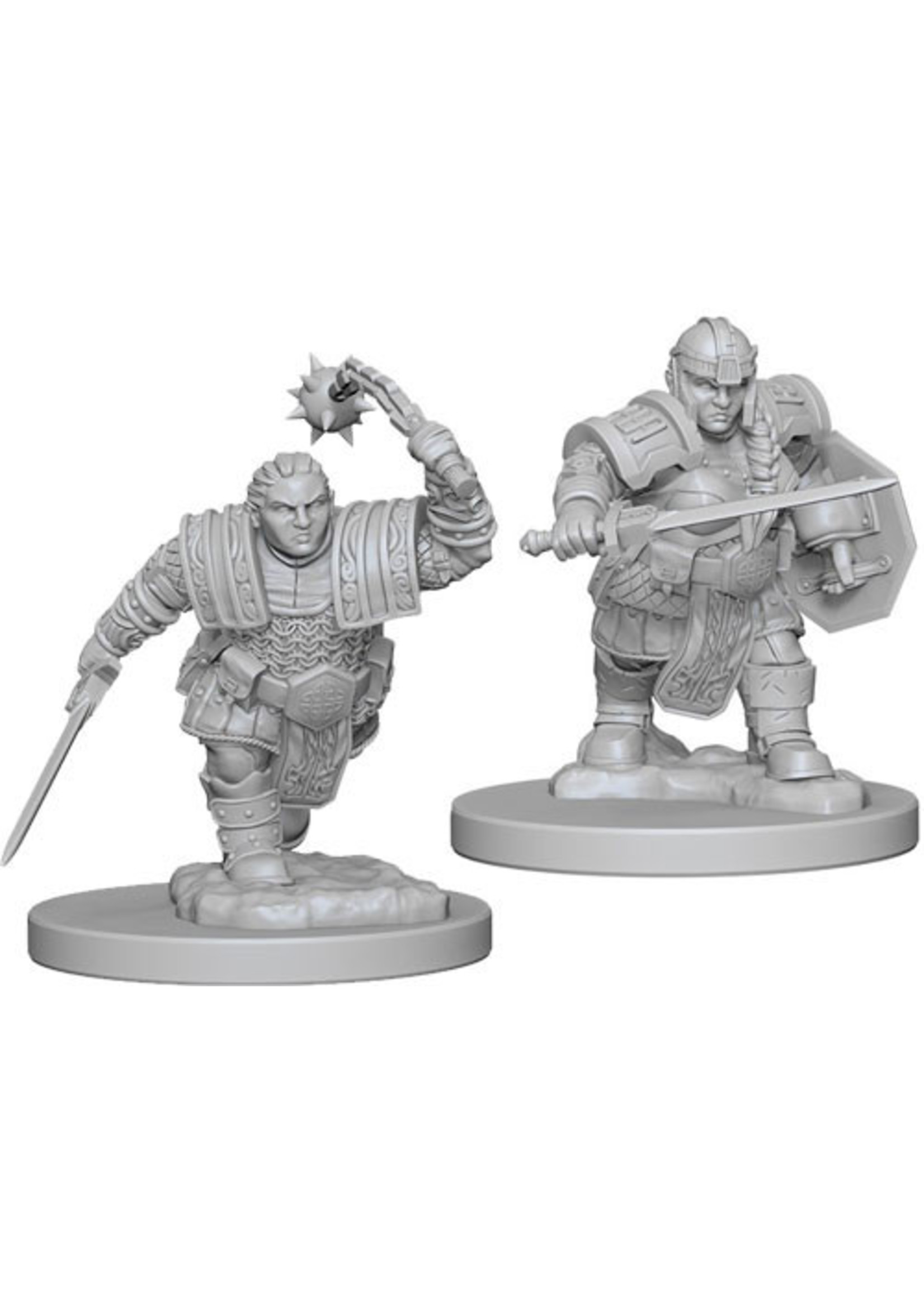Dungeons & Dragons Nolzur's Marvelous Unpainted Miniatures: W2 Dwarf Female Fighter
