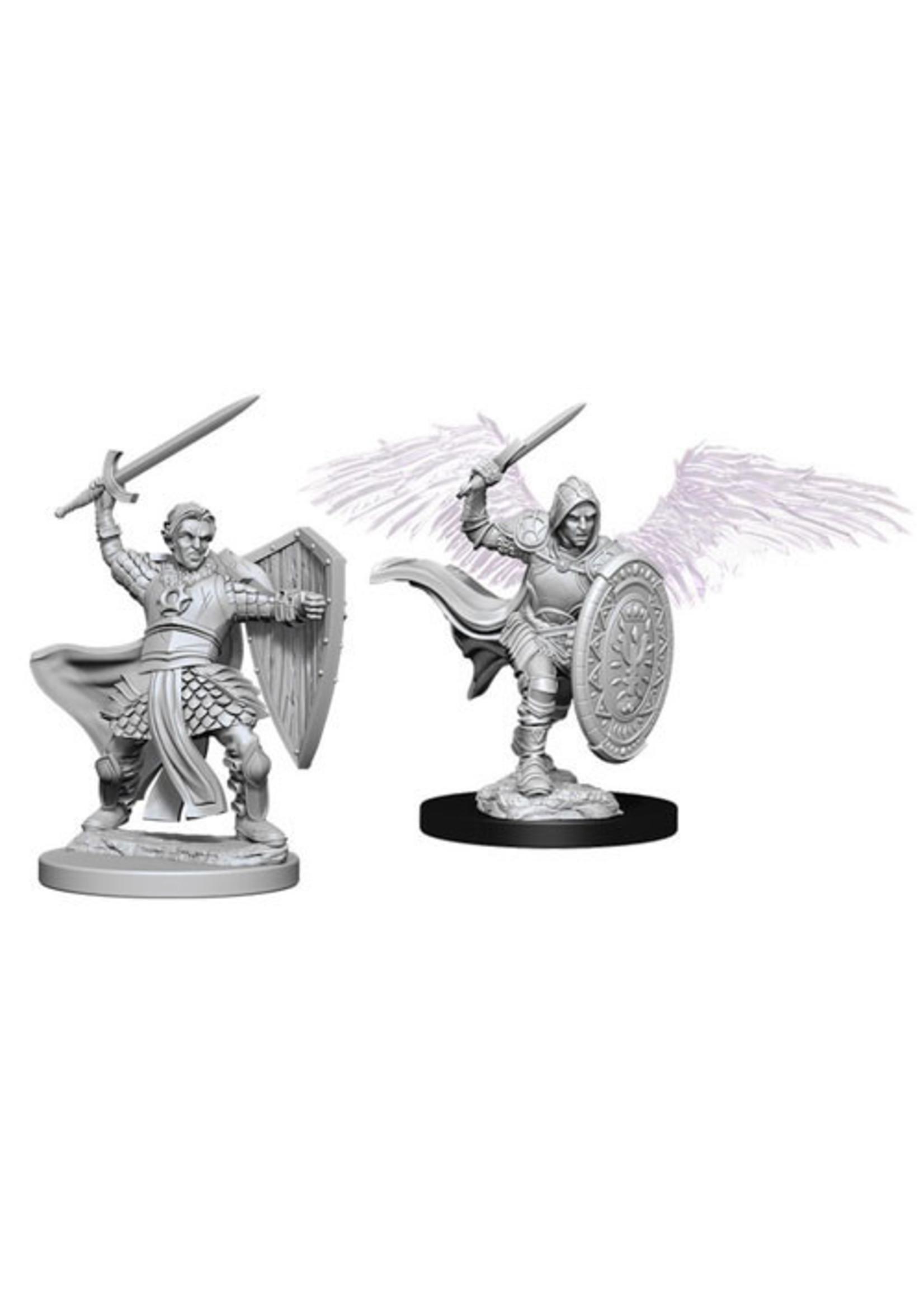 Dungeons & Dragons Nolzur`s Marvelous Unpainted Miniatures: W5 Aasimar Male Paladin