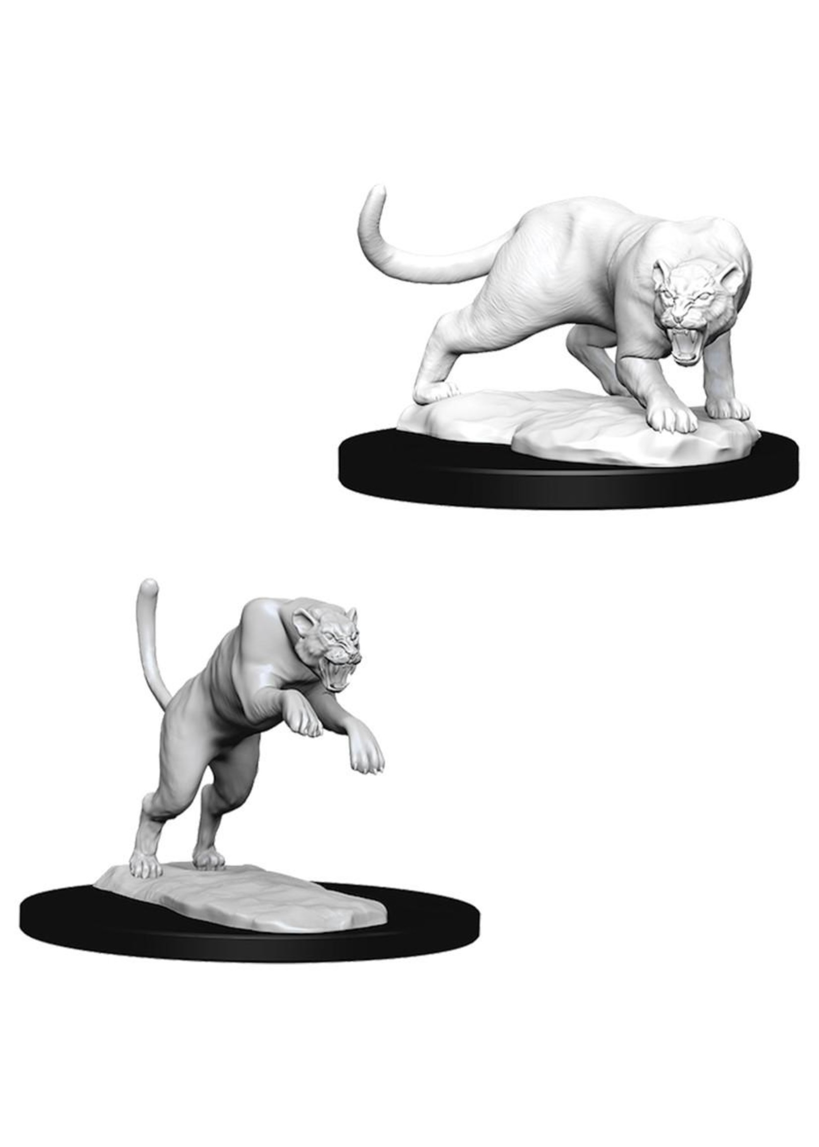 Dungeons & Dragons Nolzur`s Marvelous Unpainted Miniatures: W6 Panther & Leopard