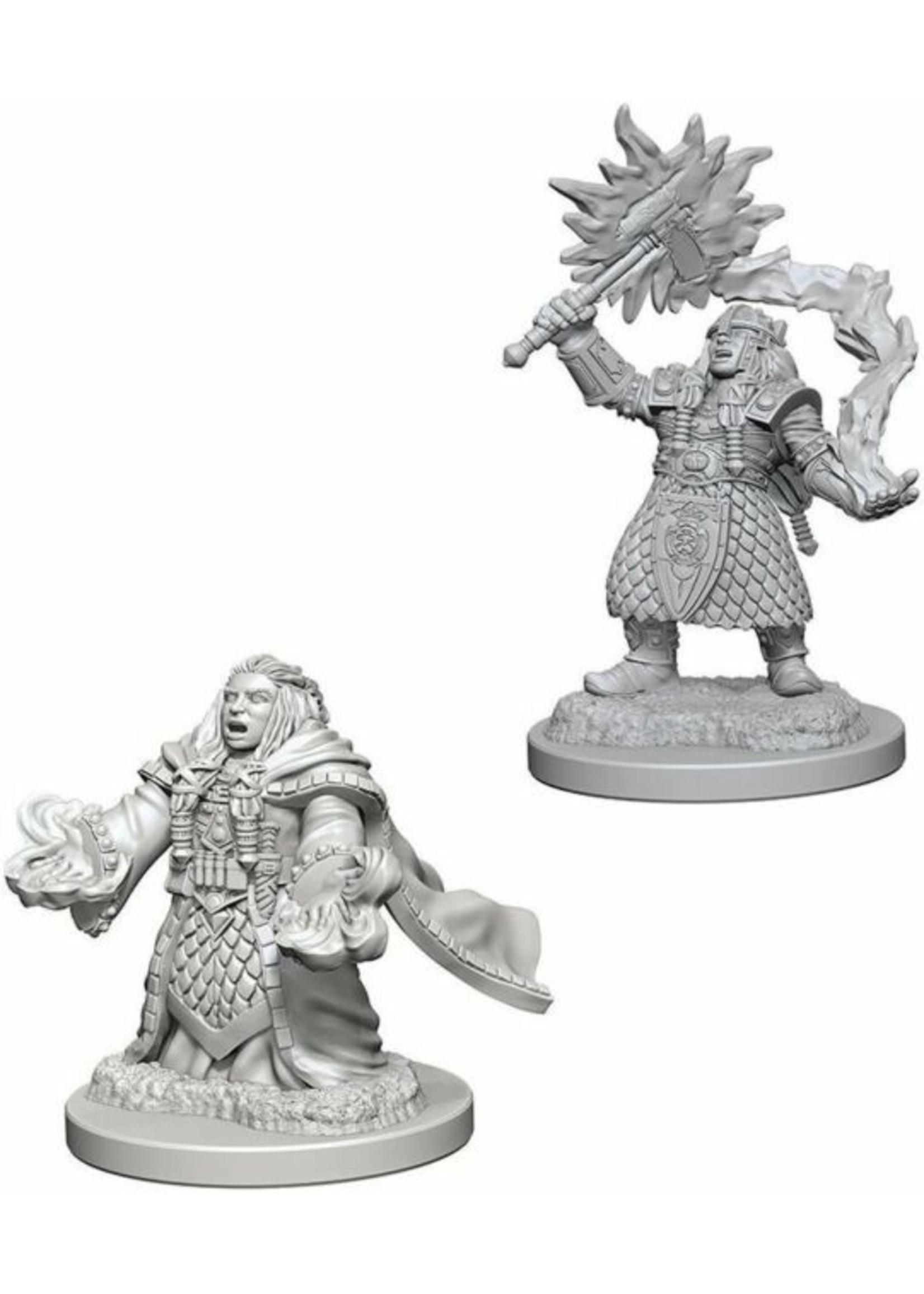 Dungeons & Dragons Nolzur`s Marvelous Unpainted Miniatures: W4 Dwarf Female Cleric