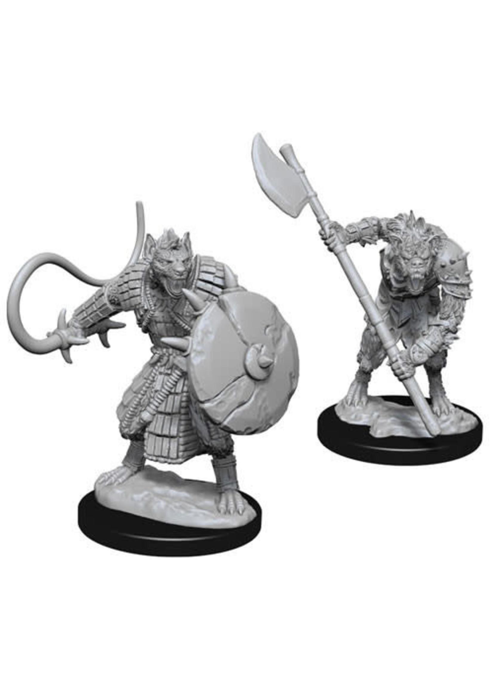 Pathfinder Deep Cuts Unpainted Miniatures: W3 Gnolls