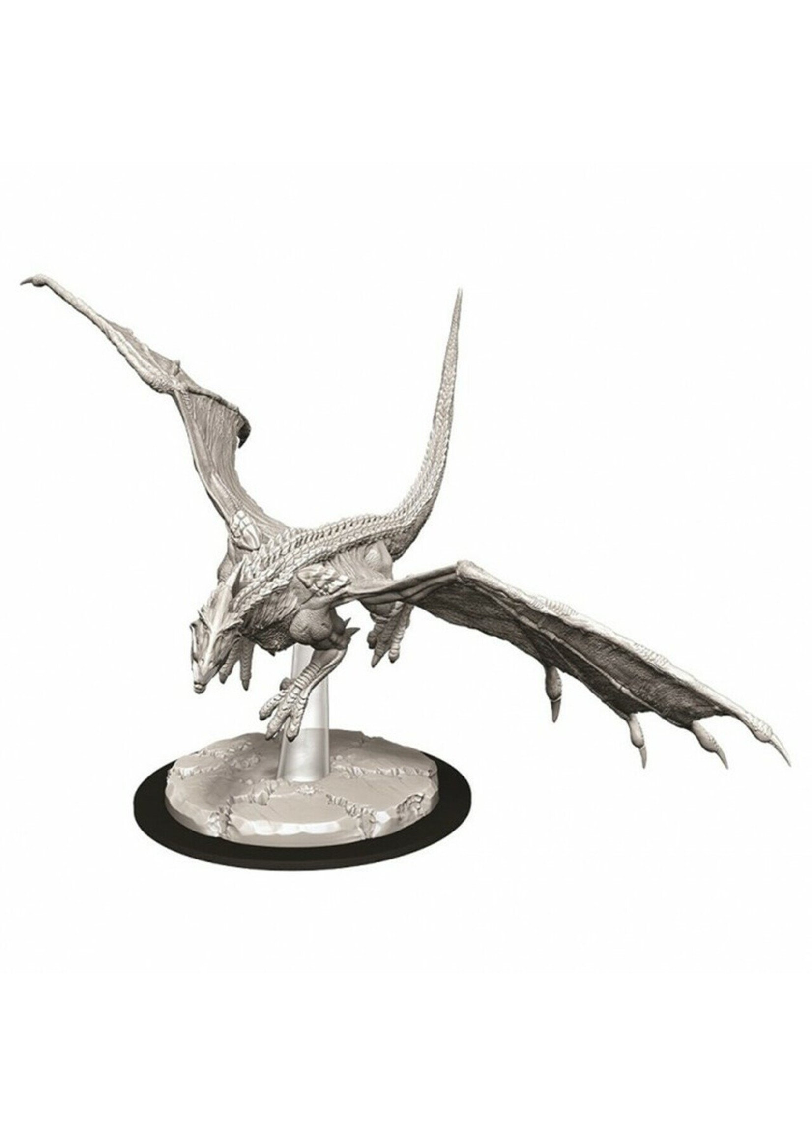 Dungeons & Dragons Nolzur`s Marvelous Unpainted Miniatures: W9 Young White Dragon