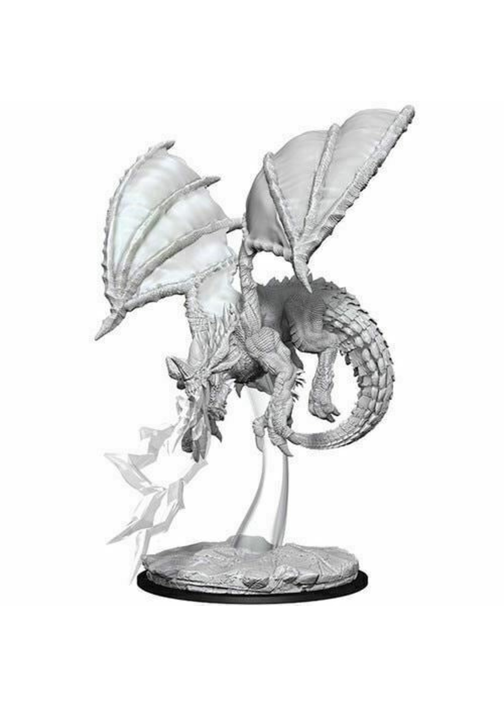 Dungeons & Dragons Nolzur`s Marvelous Unpainted Miniatures: W8 Young Blue Dragon