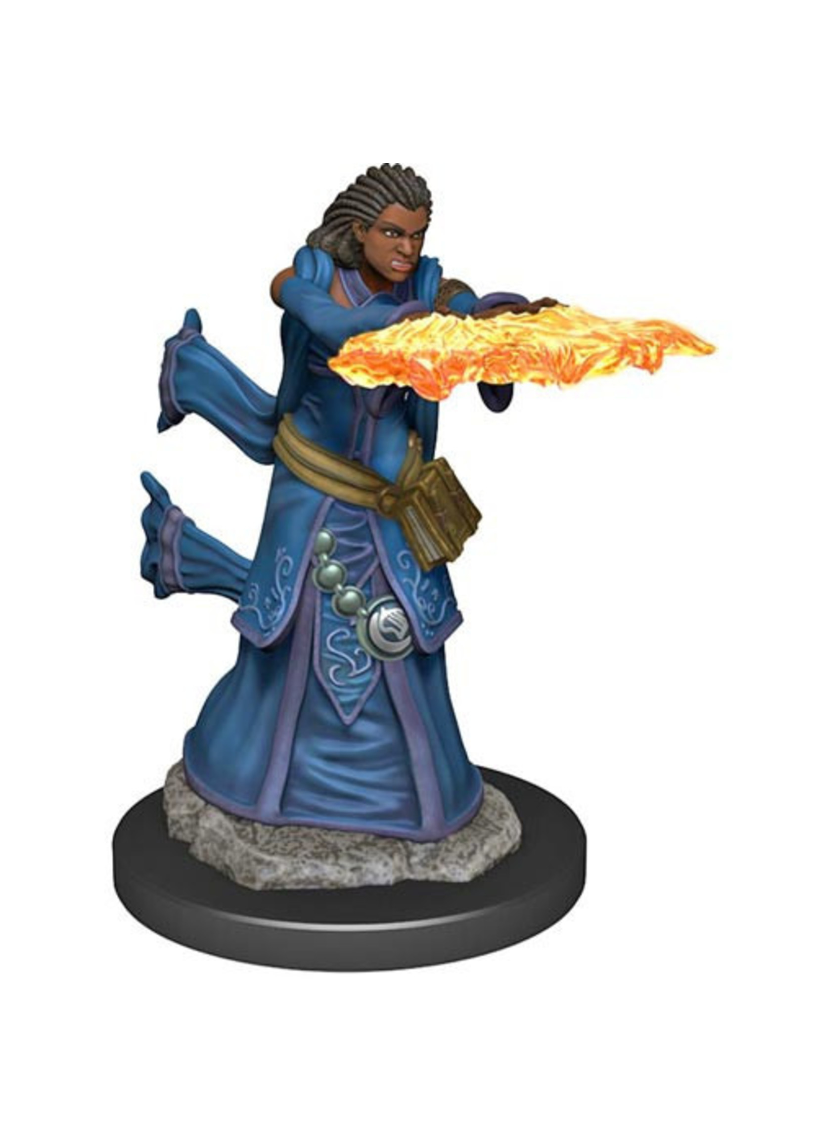 Dungeons & Dragons Fantasy Miniatures: Icons of the Realms Premium Figures W5 Human Wizard Female