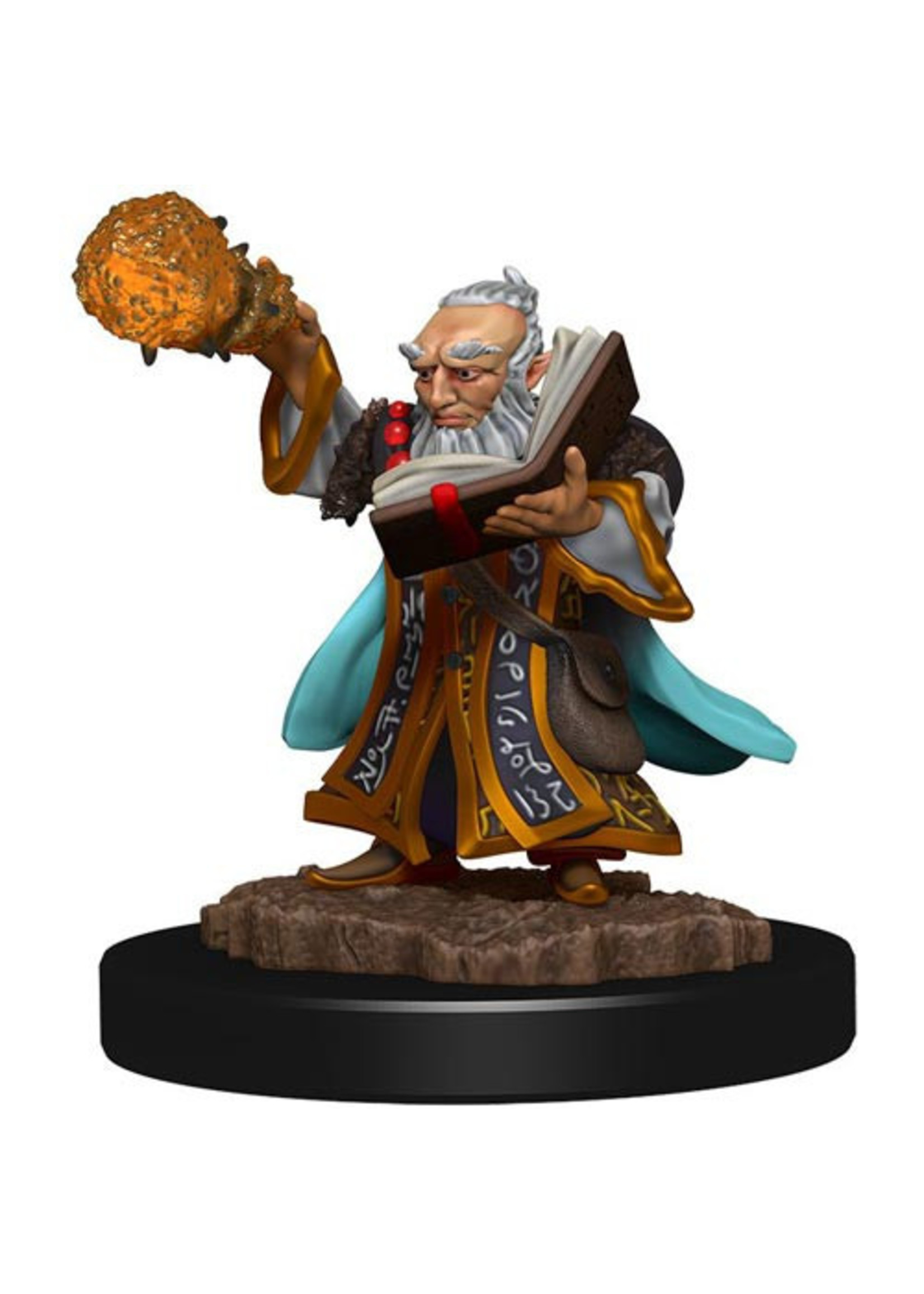 Dungeons & Dragons Fantasy Miniatures: Icons of the Realms Premium Figures W5 Gnome Wizard Male