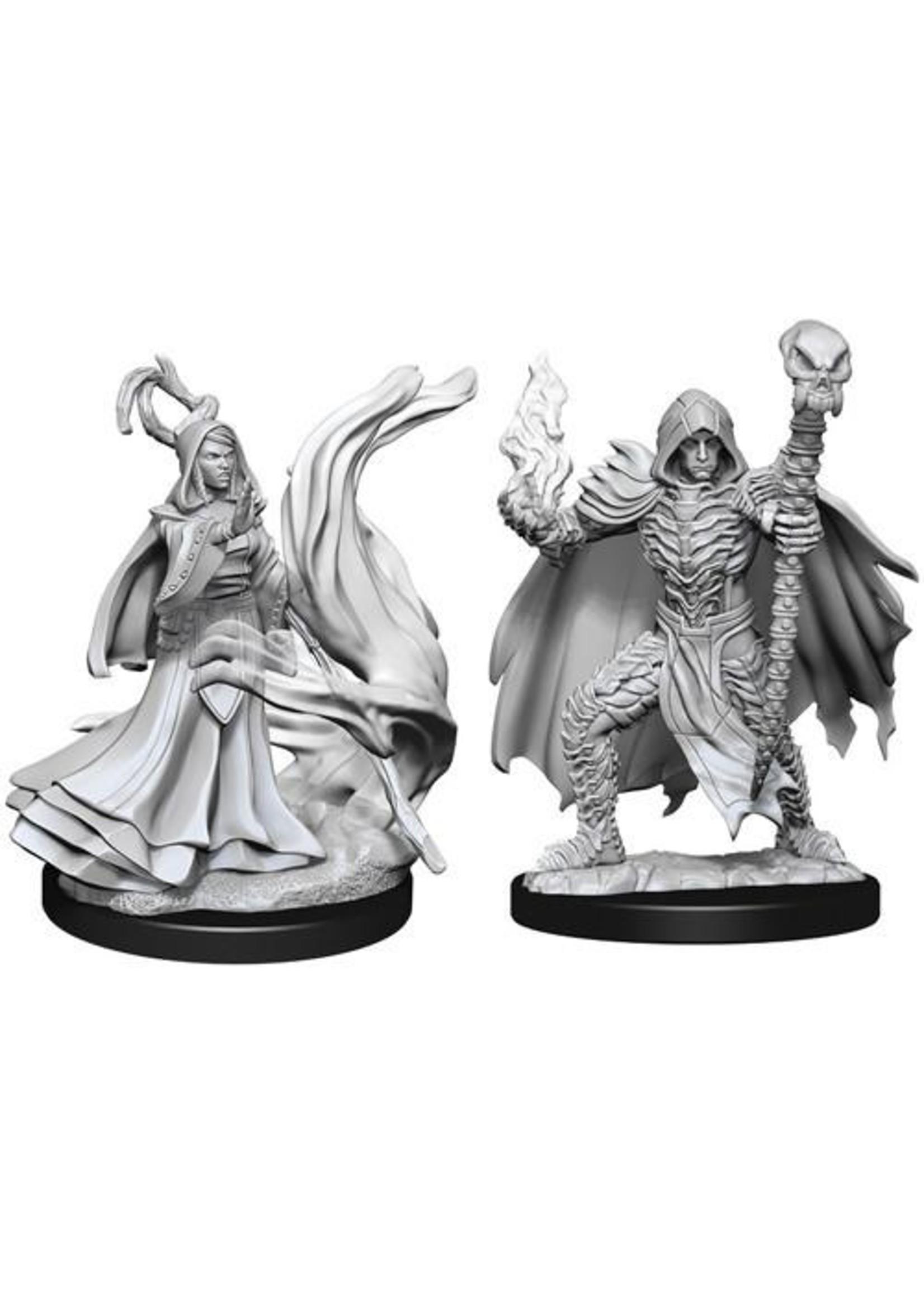 Pathfinder Deep Cuts Unpainted Miniatures: W10 Necromancers