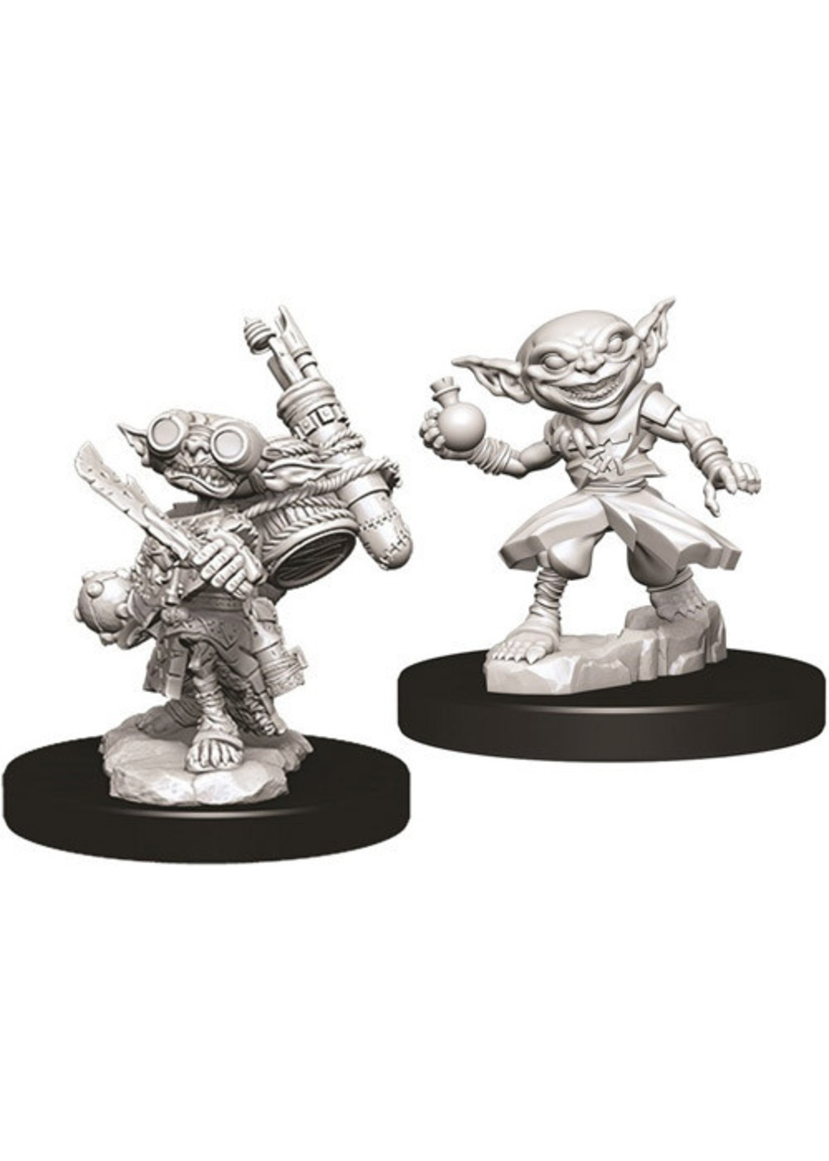Pathfinder Deep Cuts Unpainted Miniatures: W9 Male Goblin Alchemist