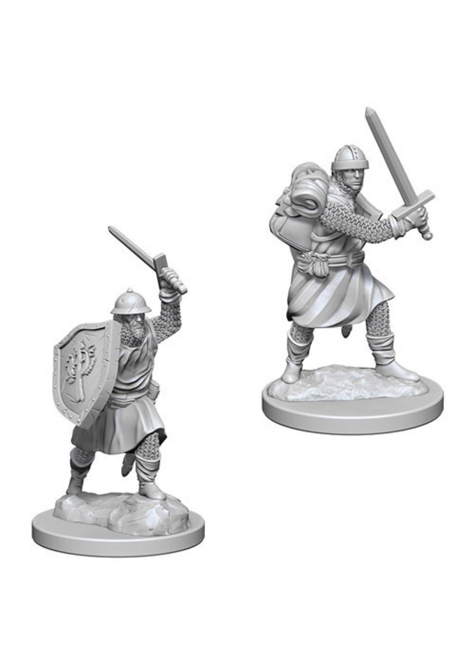 Pathfinder Deep Cuts Unpainted Miniatures: W4 Infantrymen