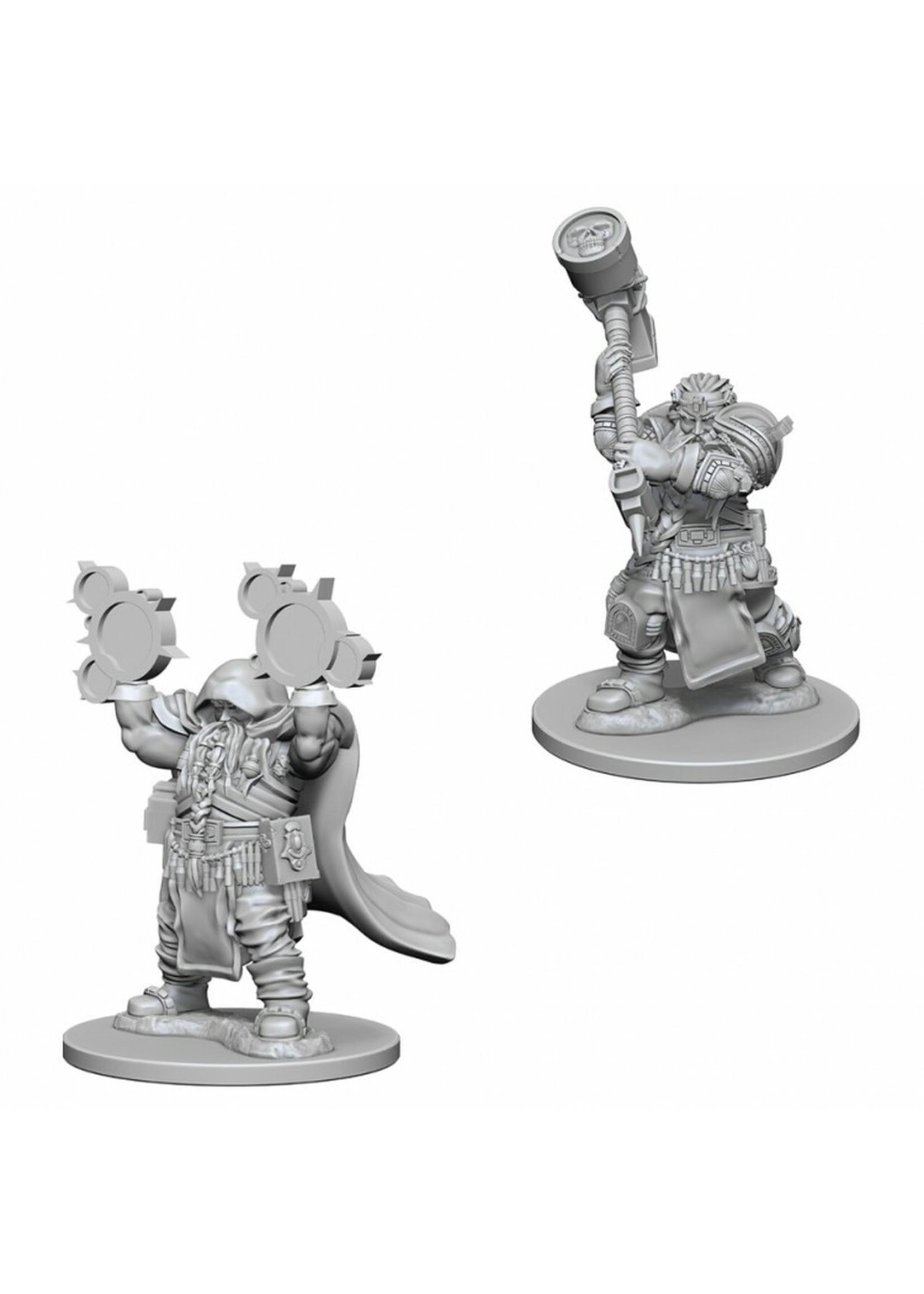 Dungeons & Dragons Nolzur`s Marvelous Unpainted Miniatures: W2 Dwarf Male Cleric