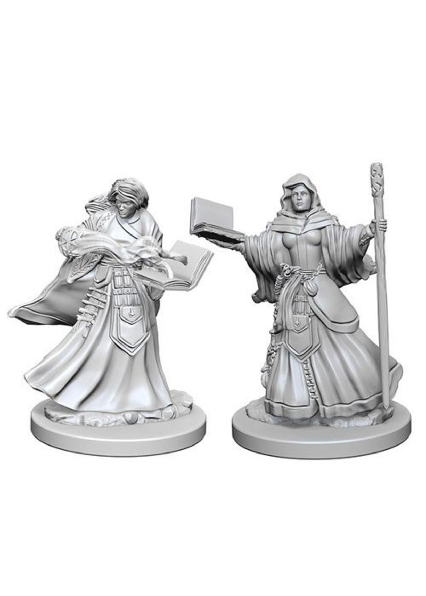 Dungeons & Dragons Nolzur`s Marvelous Unpainted Miniatures: W1 Human Female Wizard